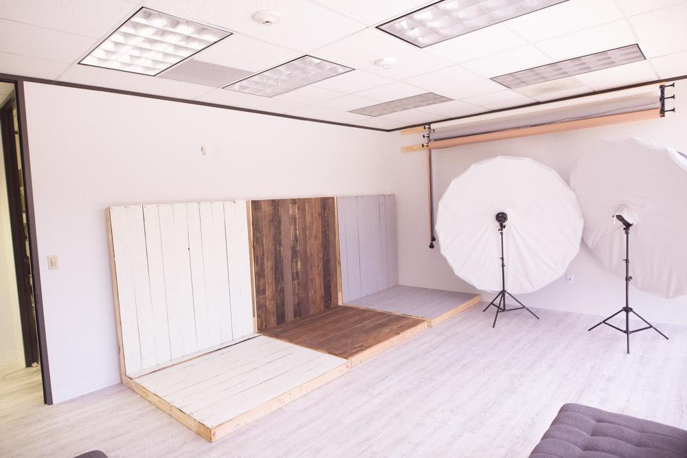 Custom made wooden walls