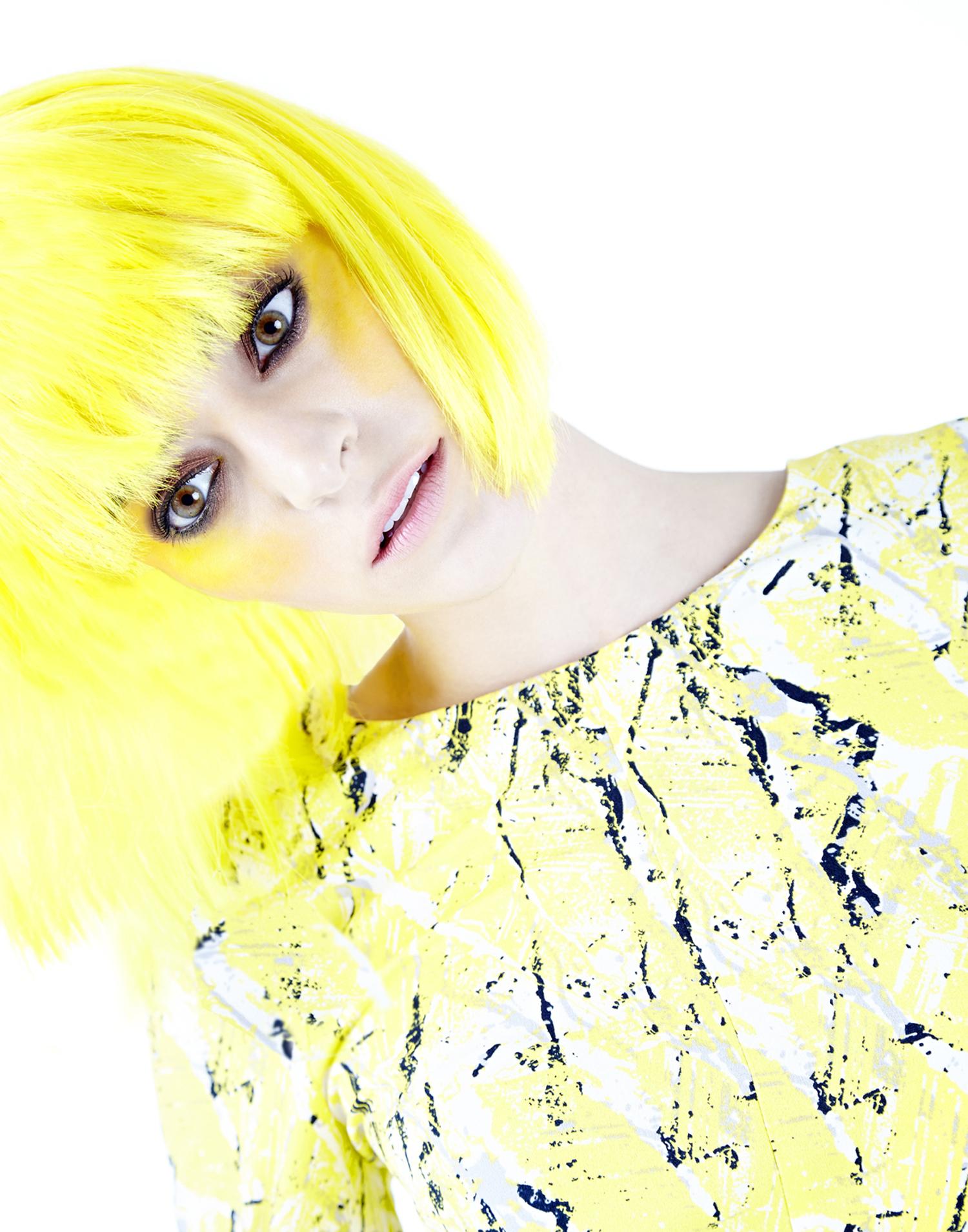 Yellow Wig'n