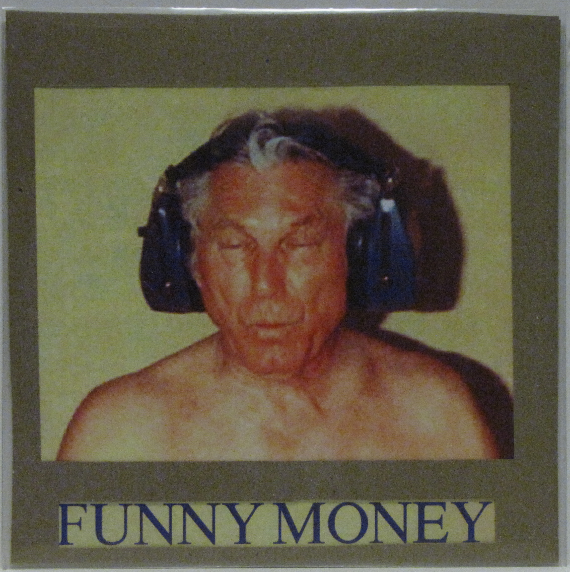 "Twelve Reasons Not to Give Your Drummer ""Those Recordings""  Funny Money CD-R  Self Released 2012  Funny Money portrait by Alex Hamrick, edited from various sessions and performances between 2011 - 12."