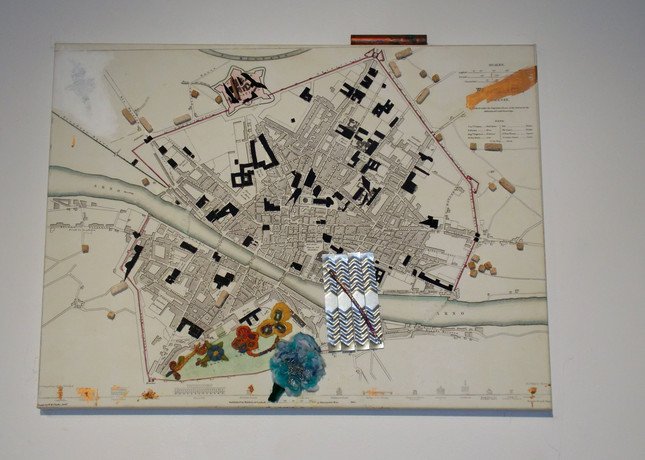 """""""Florence Map Painting"""""""