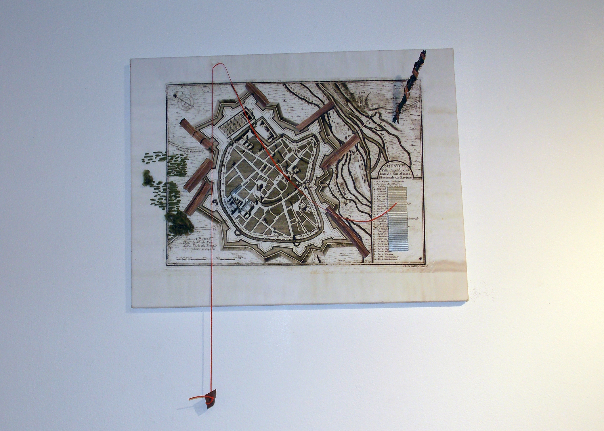 """""""Munich Map Painting"""""""