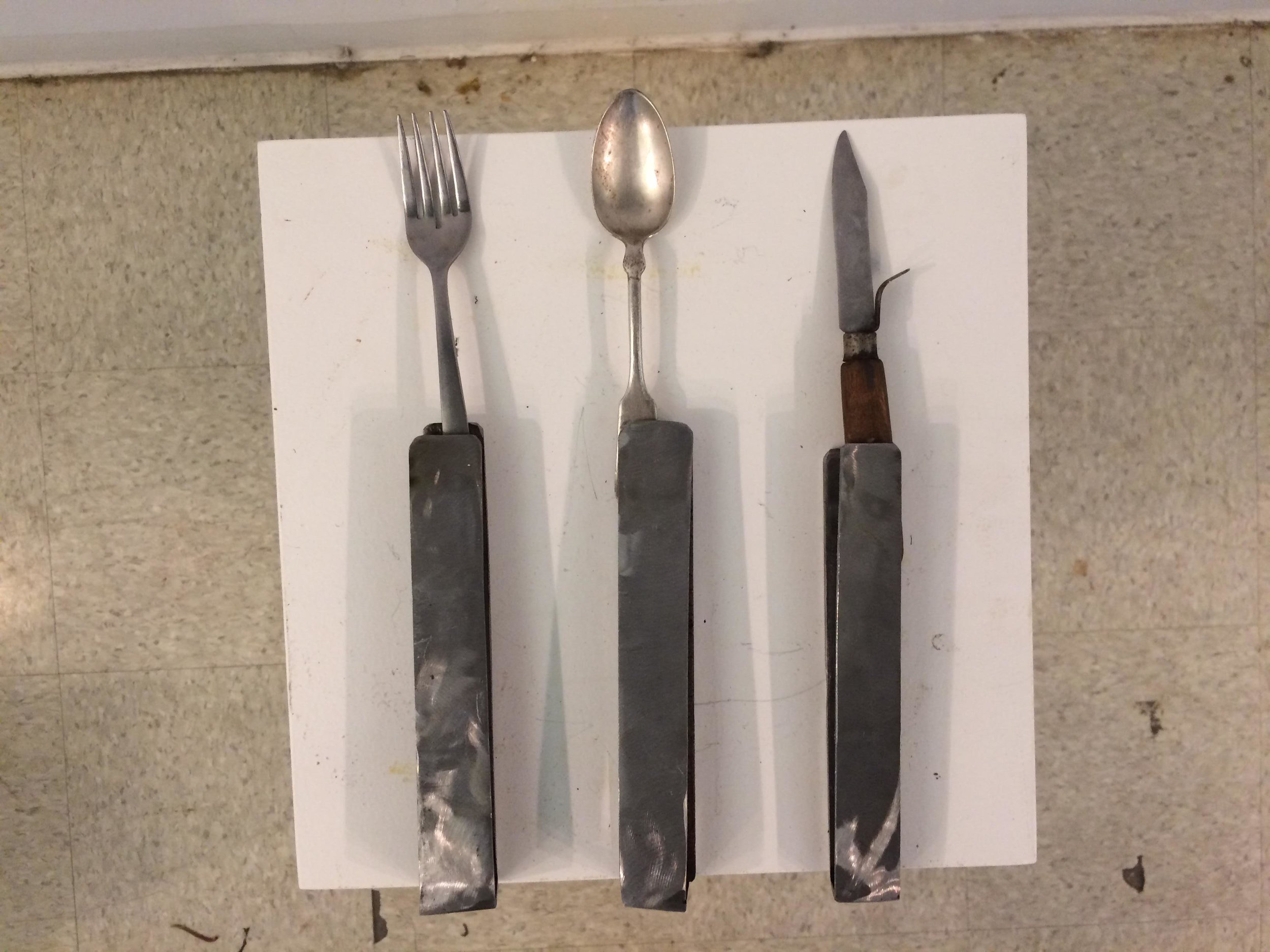 Pocket Spoon, Fork, and Knife
