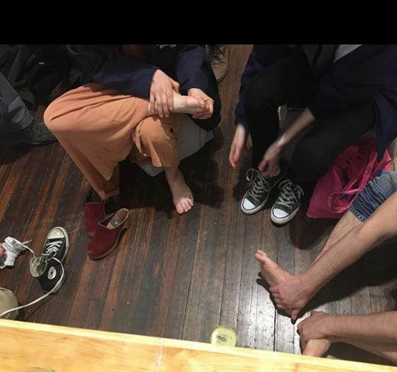 Mushroom Foot Massage Williamsburg Art and Historical Center