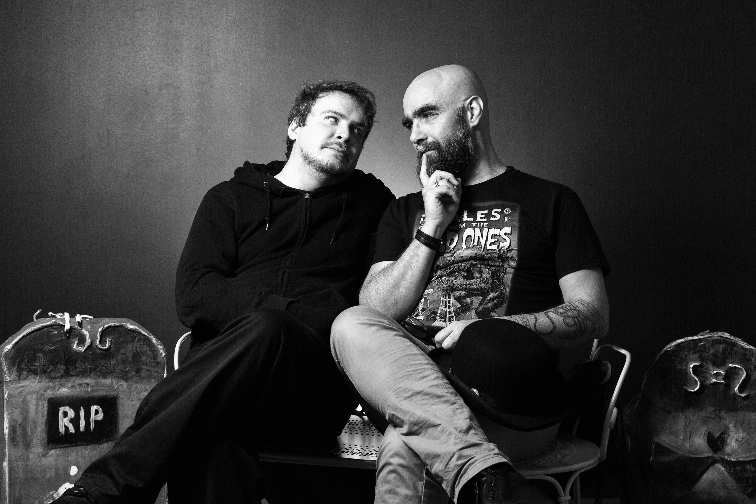 Guillaume Beck et Jack Machillot
