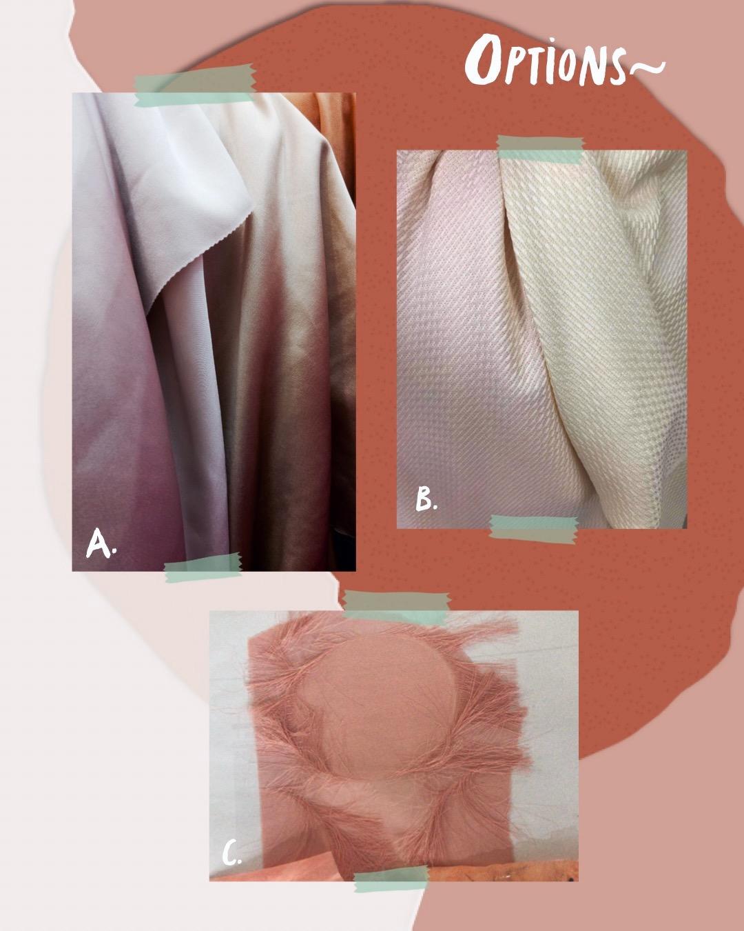 Photo: Bahan-bahan yang harus dipilih untuk tiap unit yang akan diproduksi.