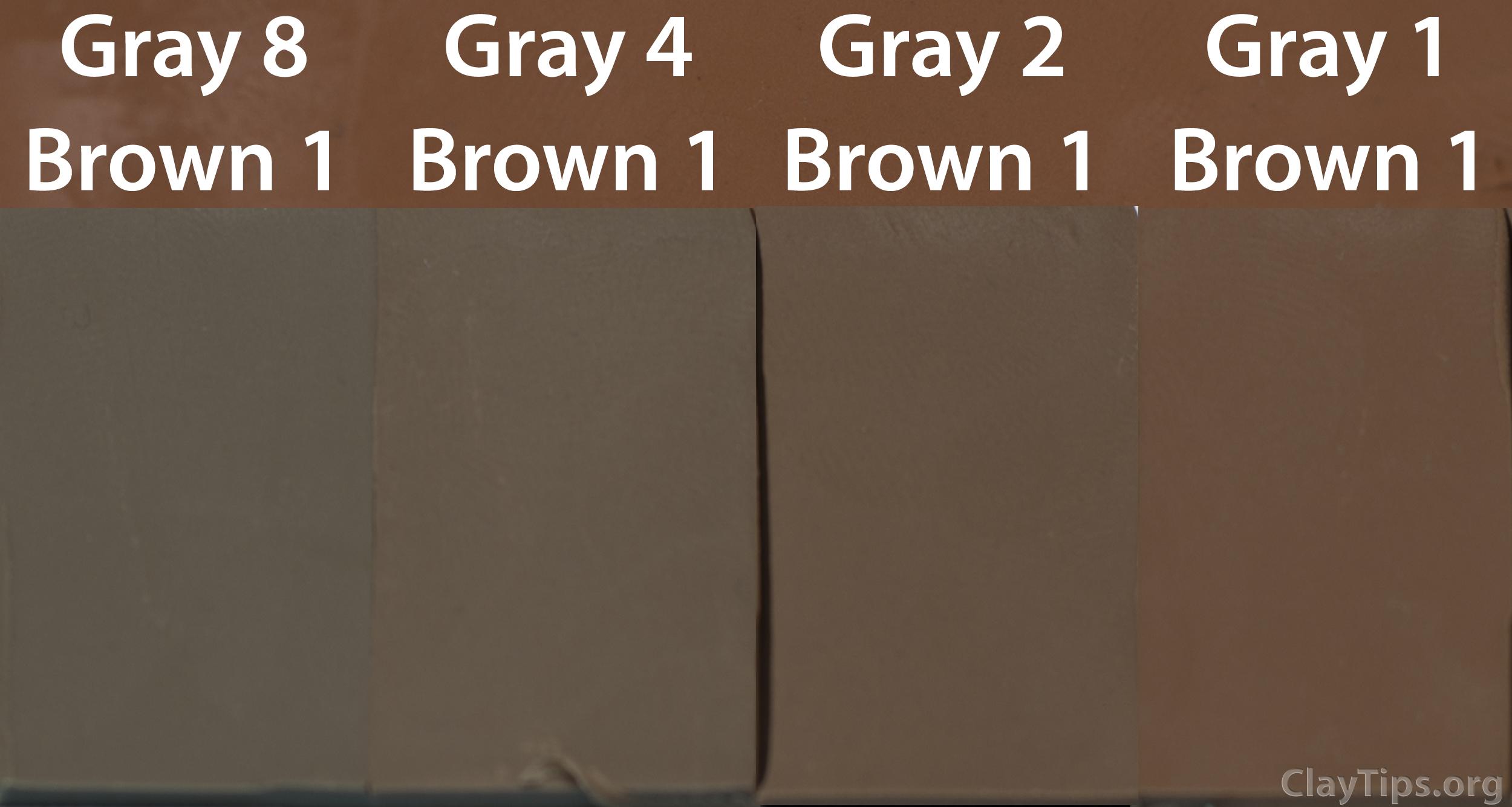 Brown and Gray Plasticine