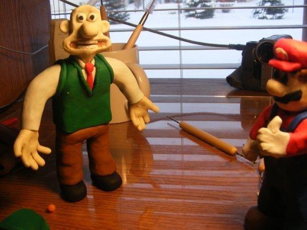 Wallace and Mario