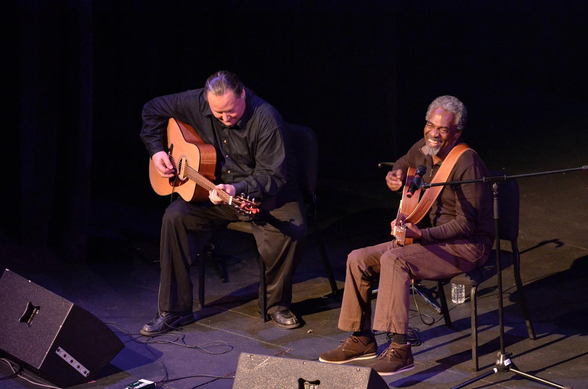 Donald Kinsey performed multiple times at TEDxGR.