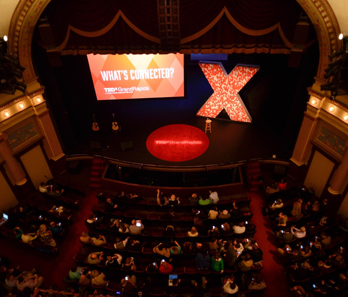 From the Peanut Gallery.  TEDxGrandRapids 2014.