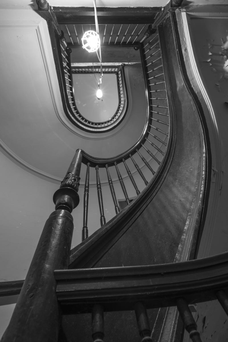 Morton House stairwell