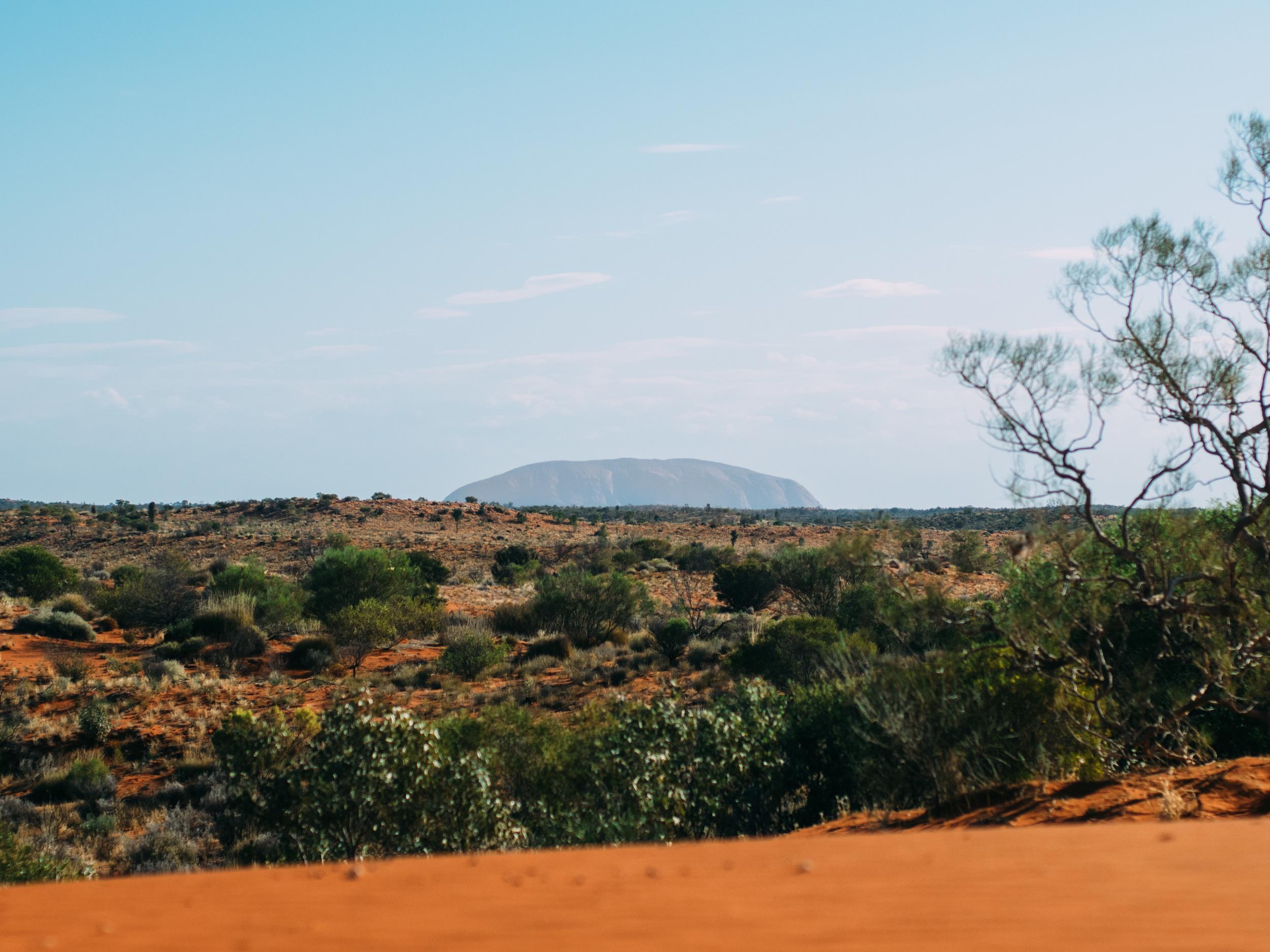 The  real Uluru.