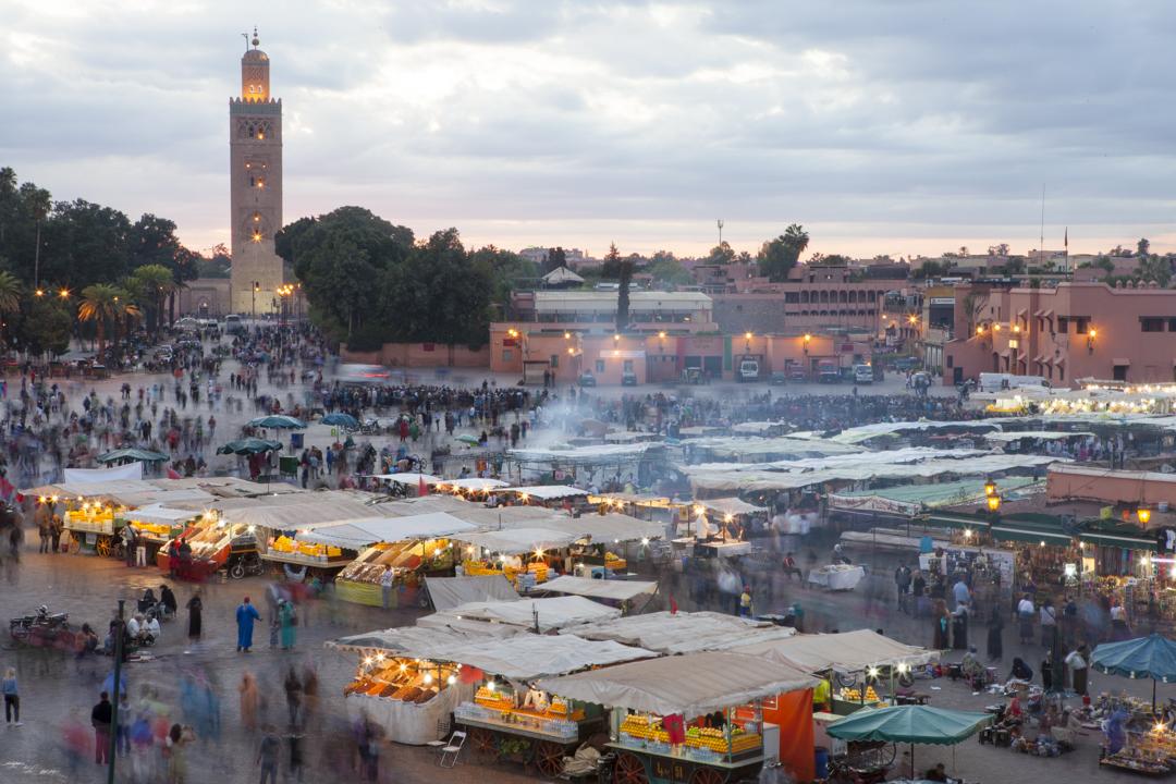 Jemaa El-Fna Square - Marrakech