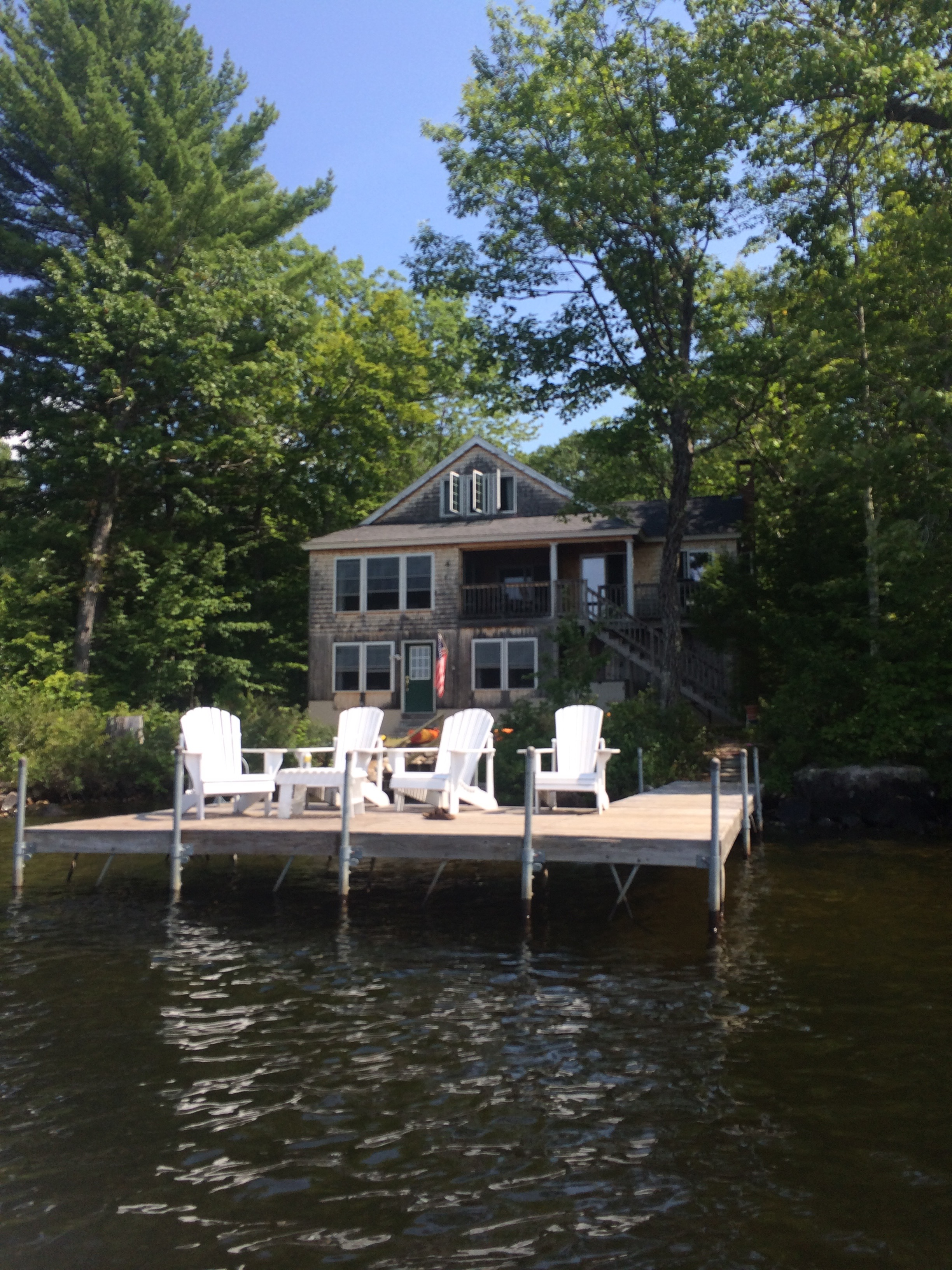 The perfect lake house we stayed at