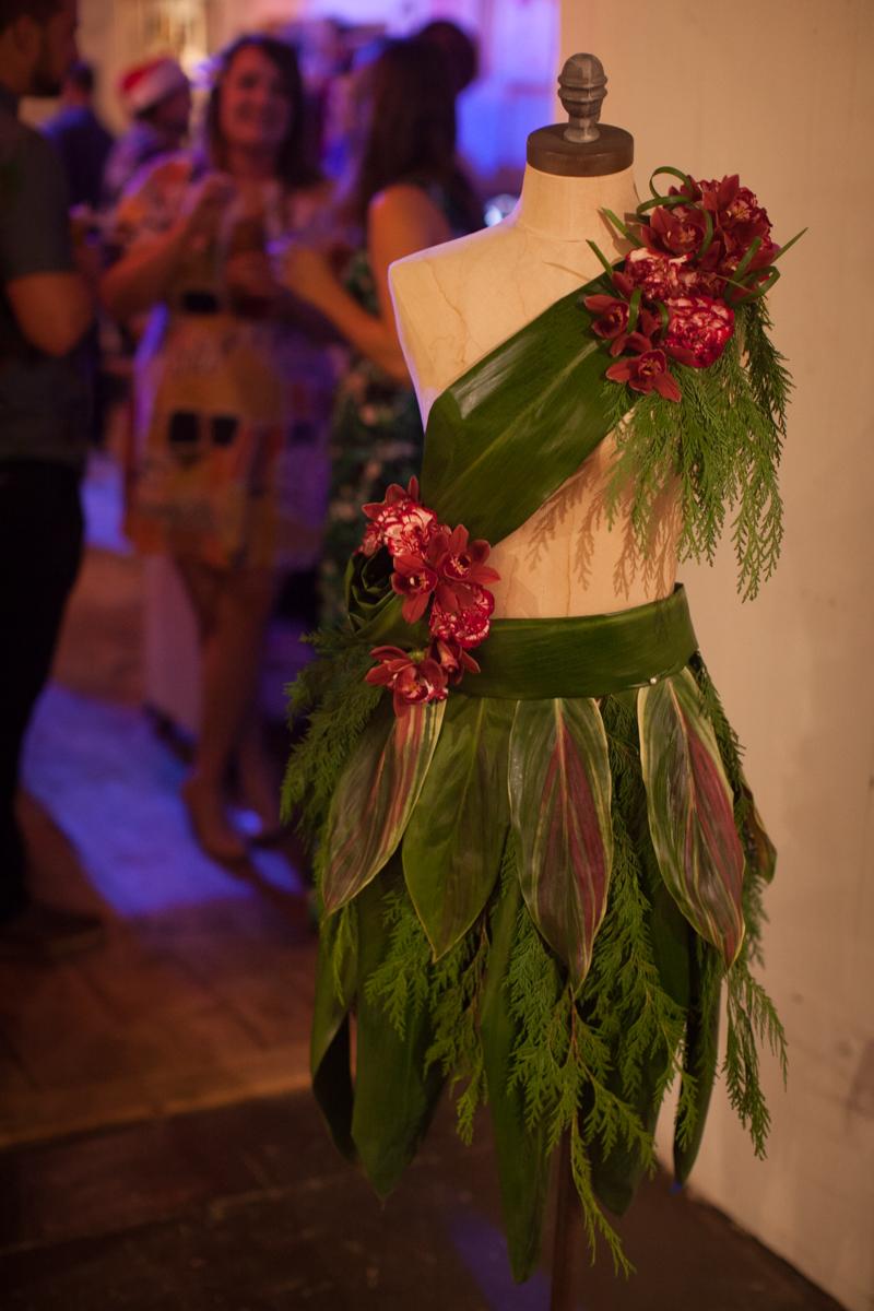 Tropical Floral Mannequin by Floral Fete