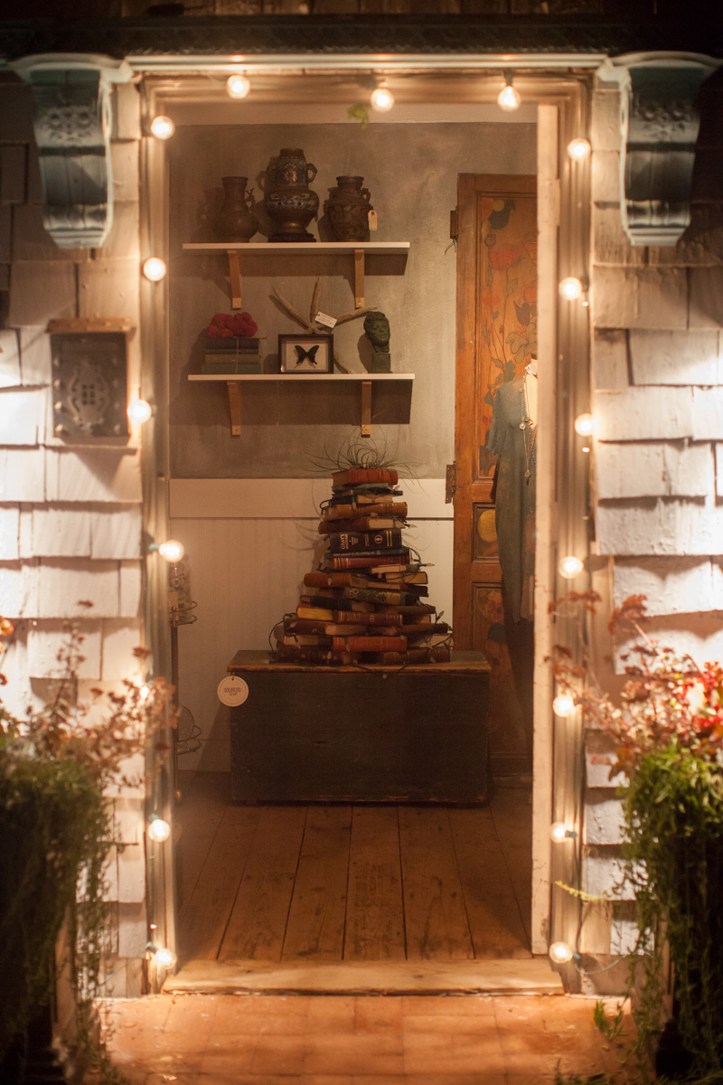 Vintage Book Christmas Tree at SOURCED.