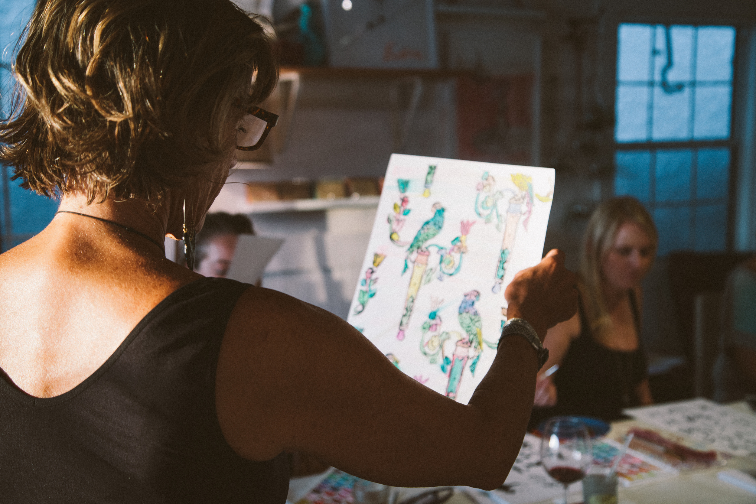 25 Beautiful Things Watercolor & Wine Workshop
