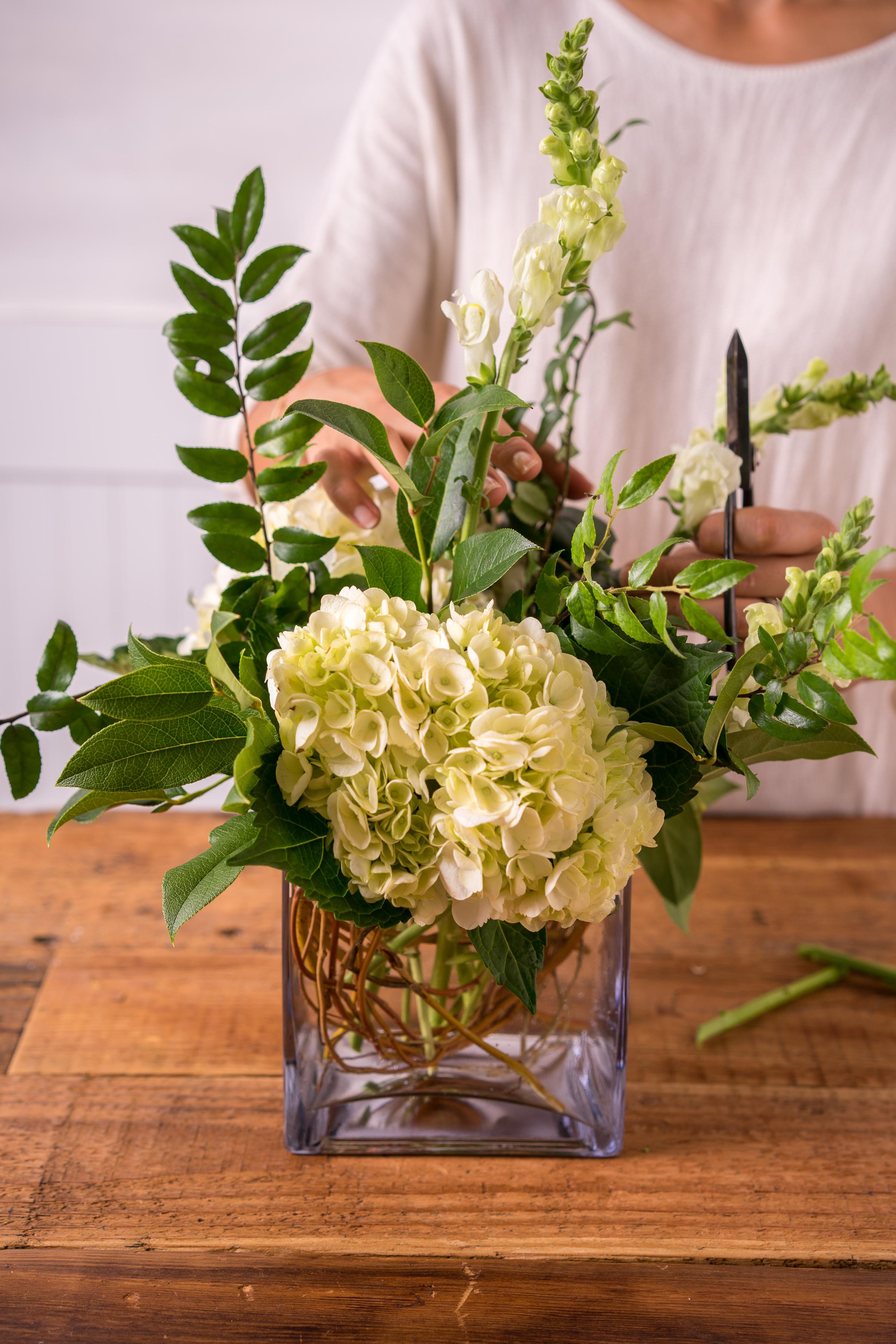 Thanksgiving Floral Arrangement with Floral Fete