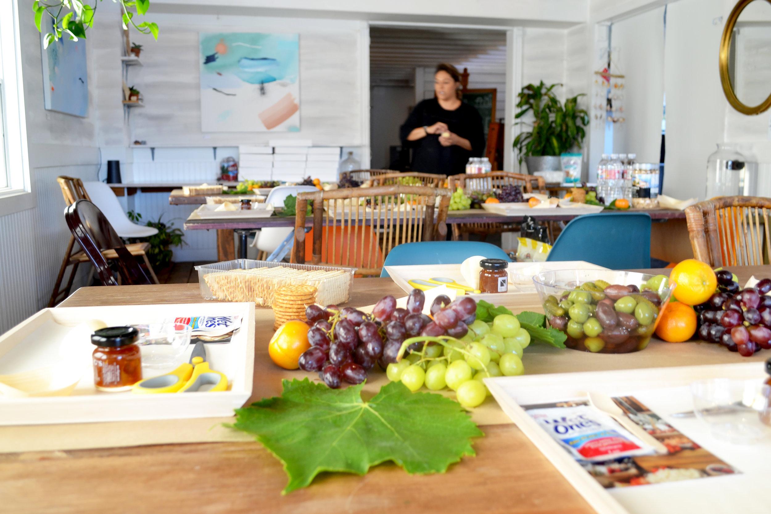 Noel Moton cheese workshop sourced laguna beach