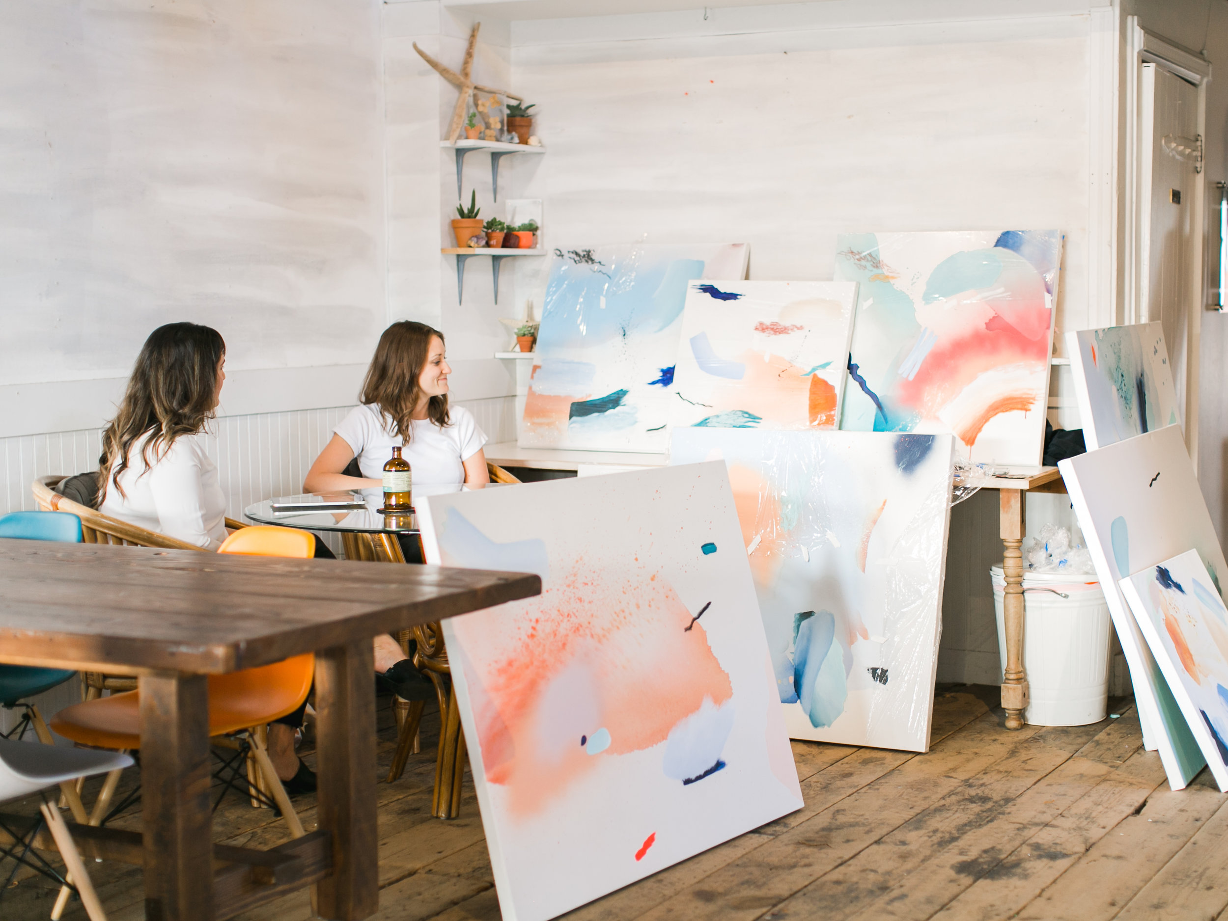 Artist Residency at SOURCED. in Laguna Beach, CA
