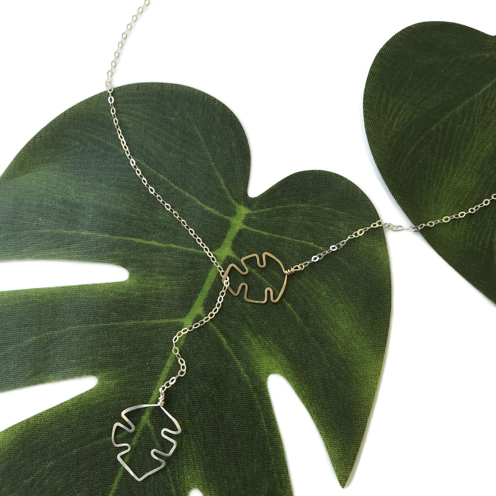 tropical leaf sliding necklace.jpg