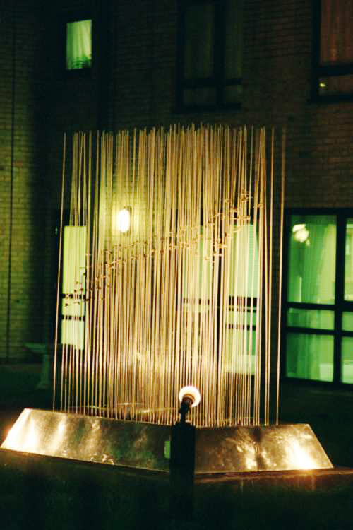 Kinetic sculpture for the Key Housing Trust, London