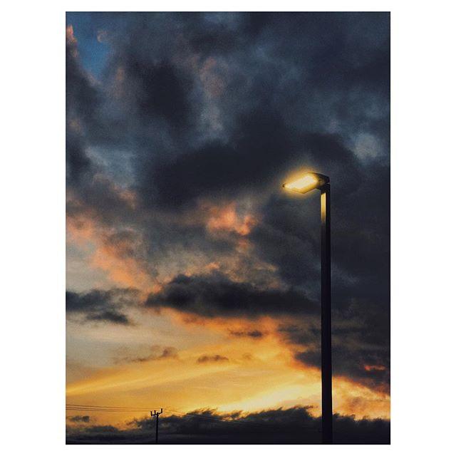 Feeling light(er). :) #iphone #light #sunset #california