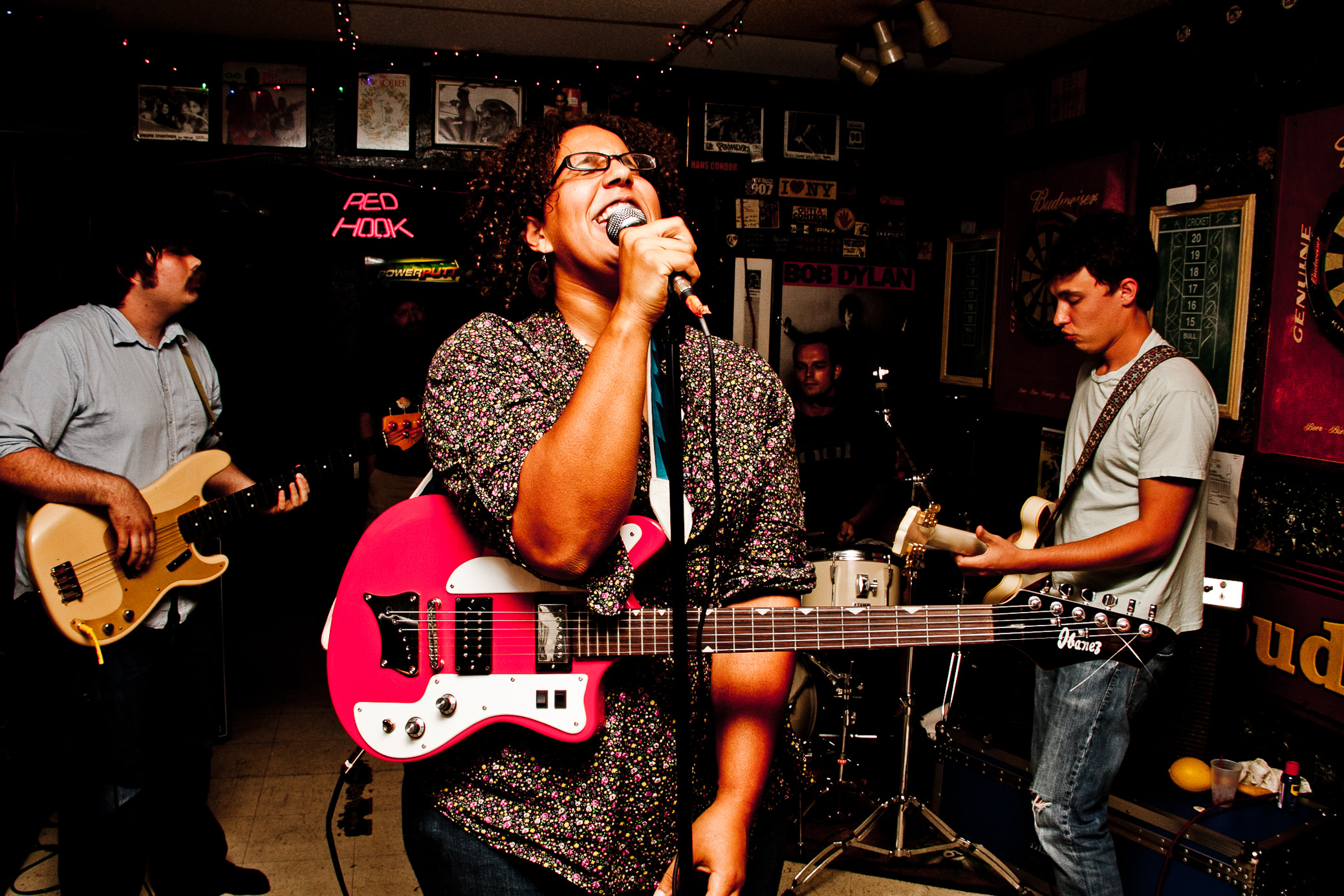 Alabama Shakes perform at Egan's Bar in Tuscaloosa, Alabama on July 10th, 2010. (Photo by David A. Smith/DSmithScenes)