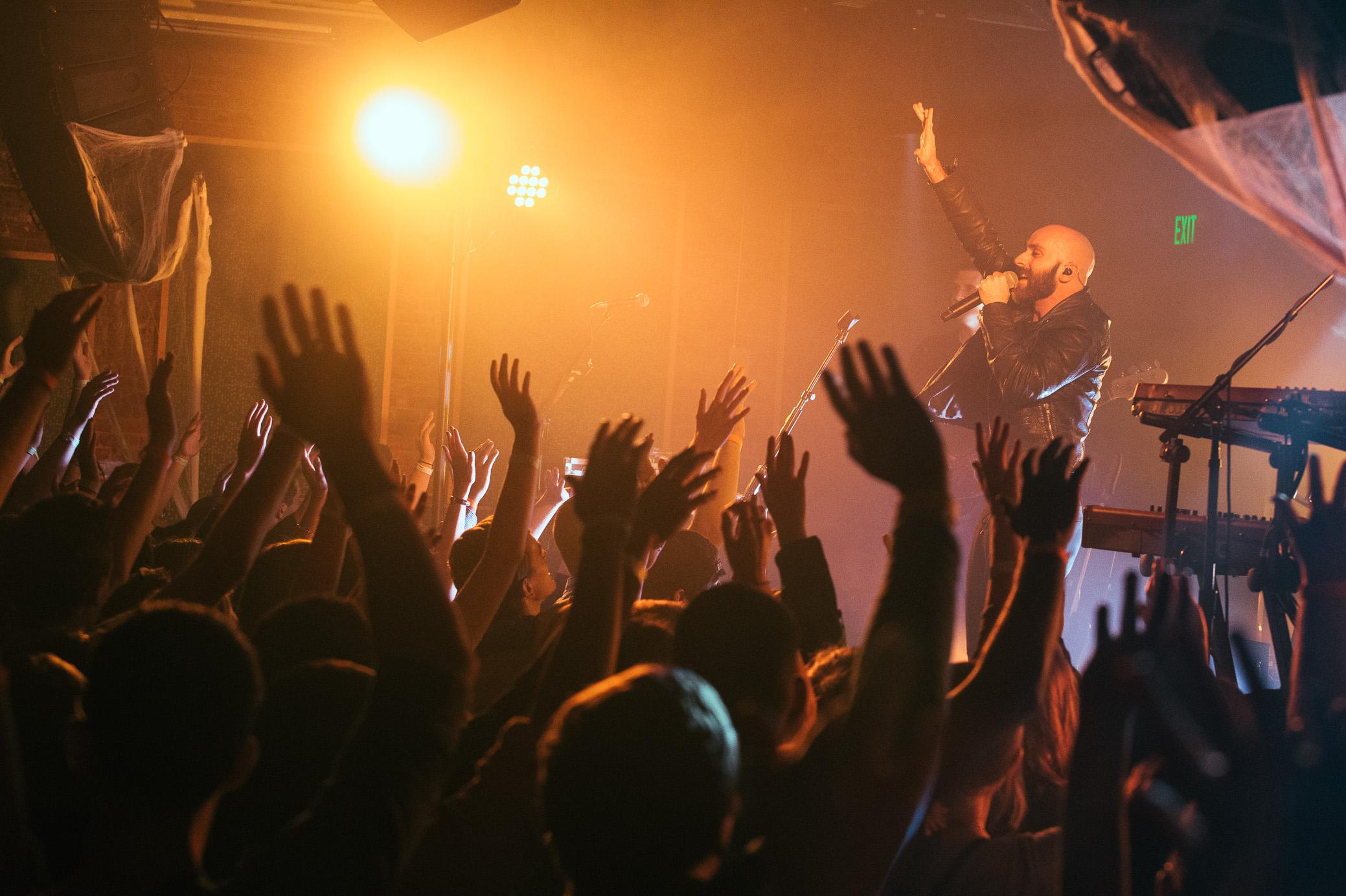 X Ambassadors perform at   Saturn Birmingham in Birmingham, Alabama on October 30th, 2015.   (Photo by David A. Smith/DSmithScenes)