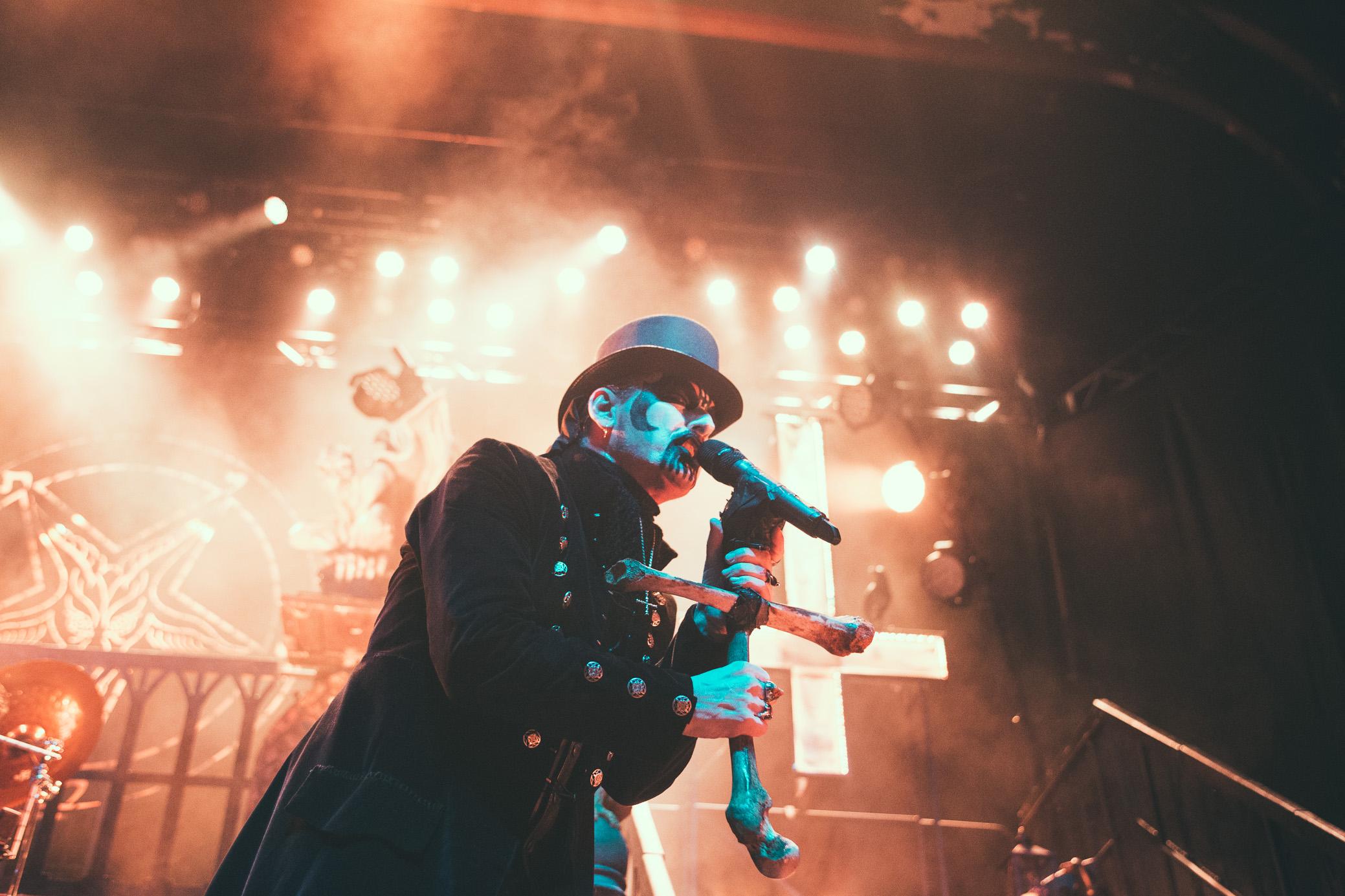 King Diamond performs at The Tabernacle in Atlanta, Georgia on November 16th, 2015.   (Photo by David A. Smith/DSmithScenes)