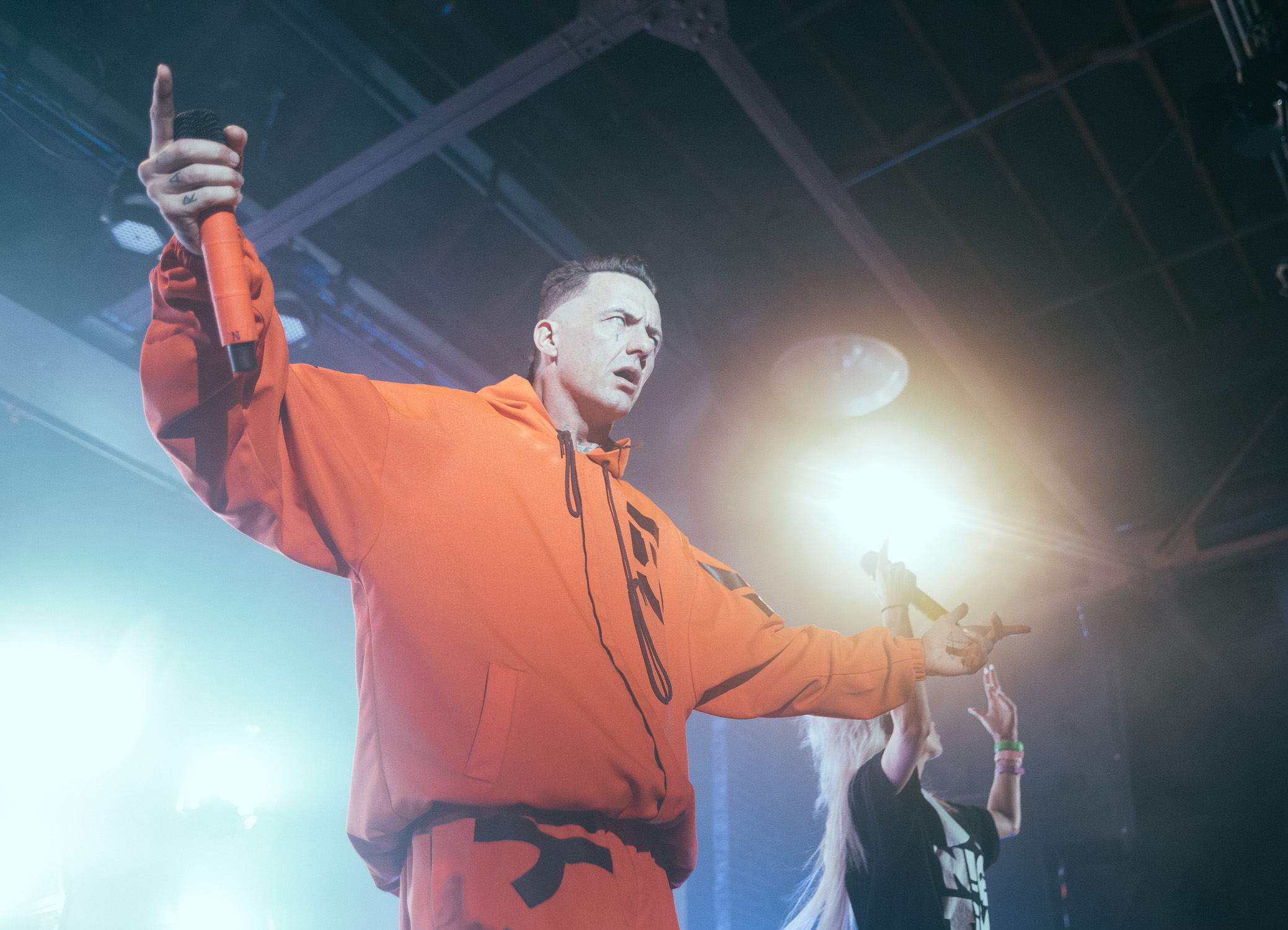 Die Antwoord performs at Iron City in Birmingham, Alabama on October 27th, 2016. (Photo by David A. Smith/DSmithScenes)