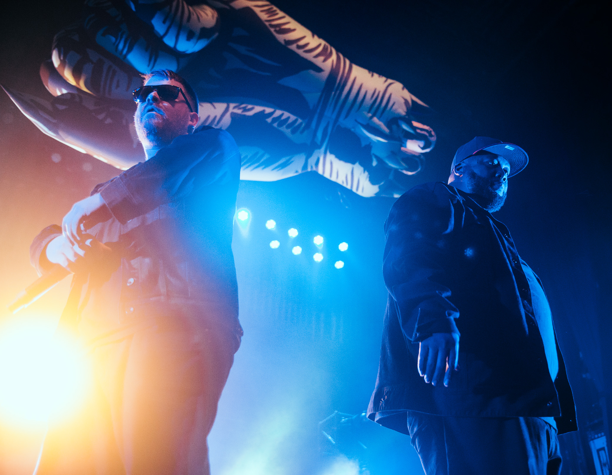 Run The Jewels performs at The Tabernacle in Atlanta, Georgia on January 21st, 2017.   (Photo by David A. Smith/DSmithScenes)