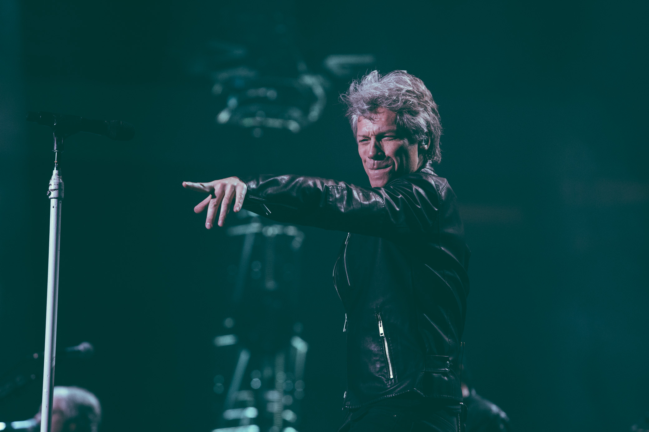 Bon Jovi performs at Legacy Arena at The BJCC in Birmingham, Alabama on February 16th, 2017. (Photo by David A. Smith/DSmithScenes)