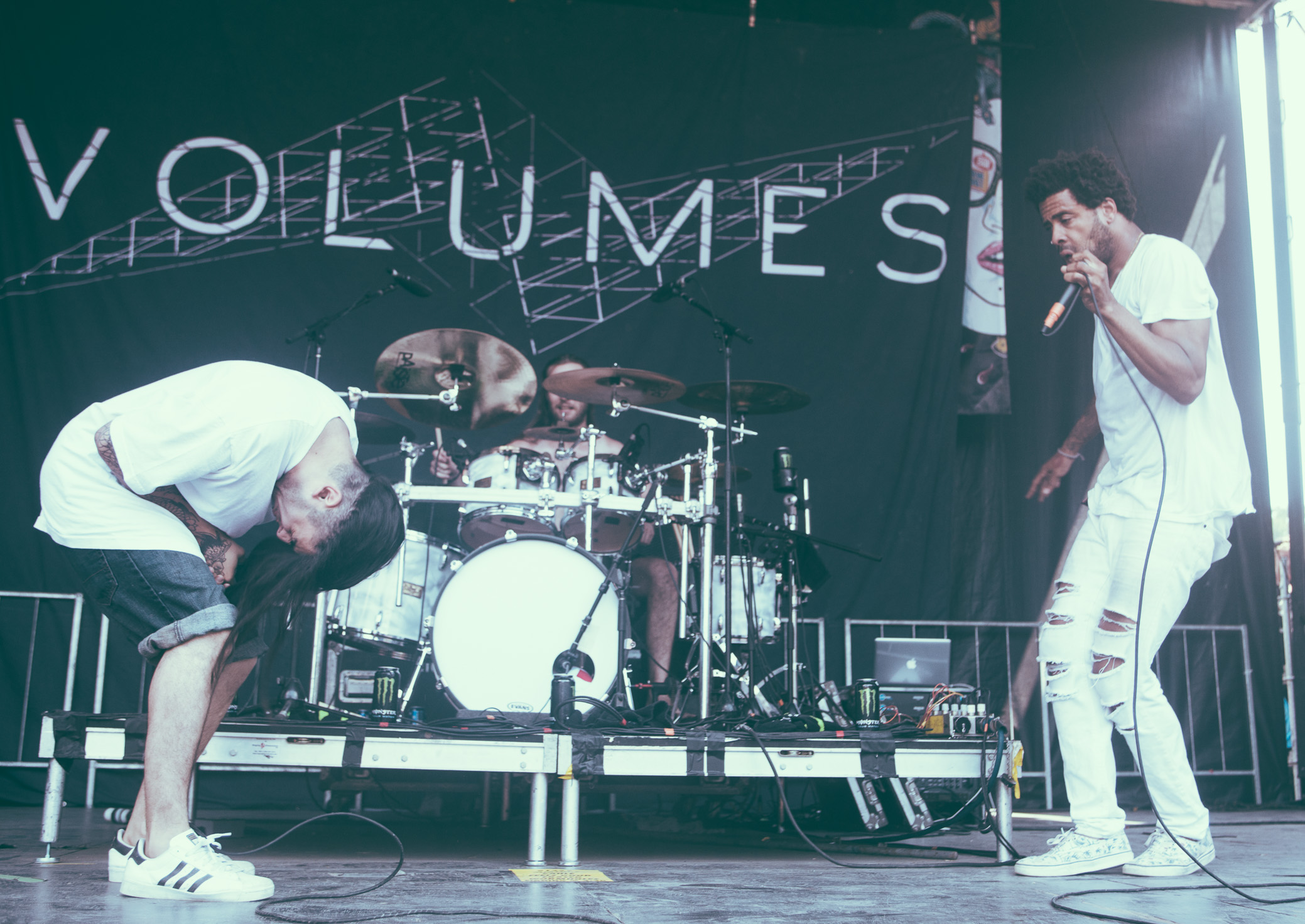 Volumes performs at the Vans Warped Tour in Atlanta, Georgia on June 30th, 2016.   (Photo by David A. Smith/DSmithScenes)