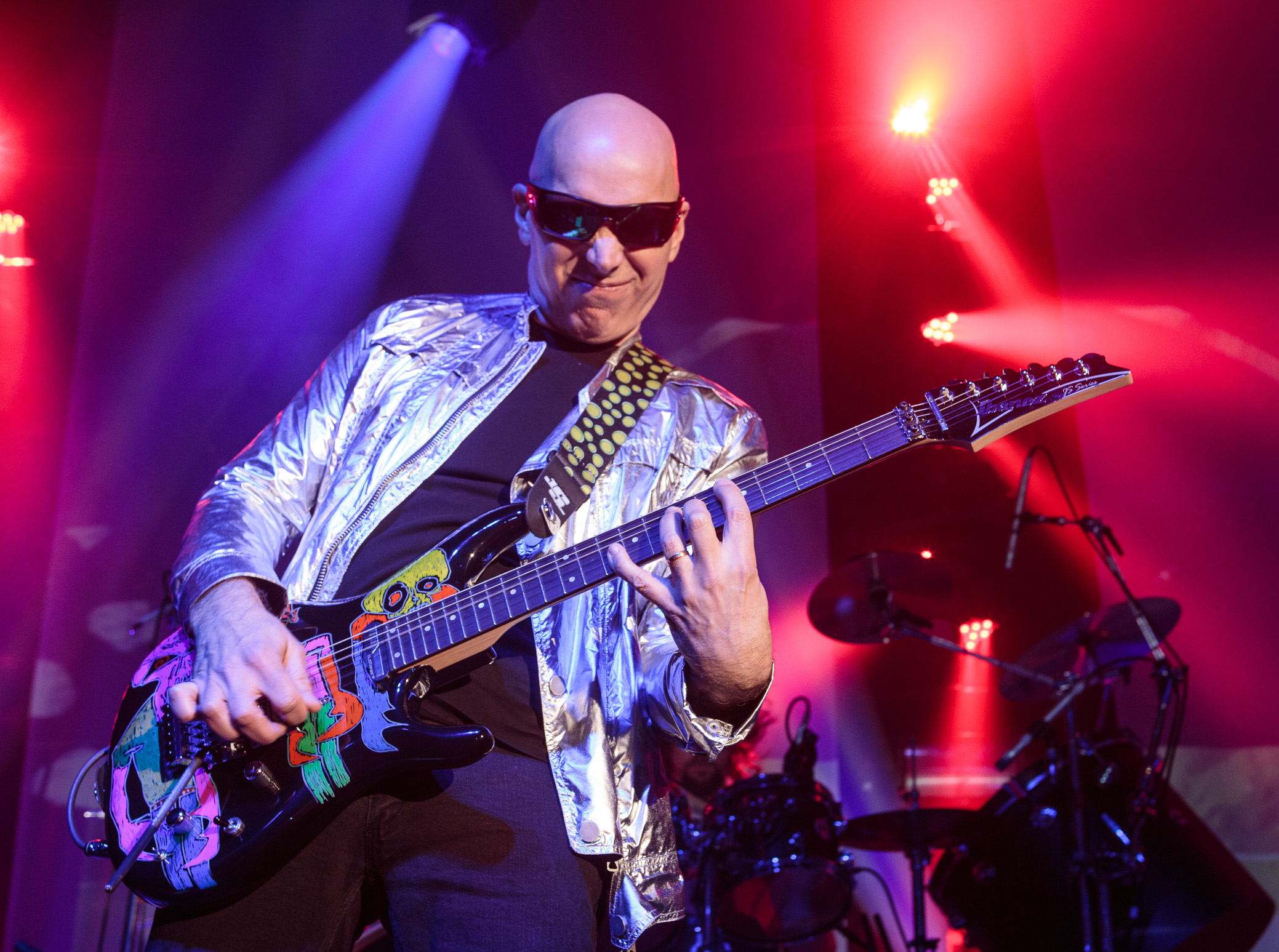 Joe Satriani performs at Iron City in Birmingham, Alabama on March 14th, 2016. (Photo by David A. Smith/DSmithScenes)