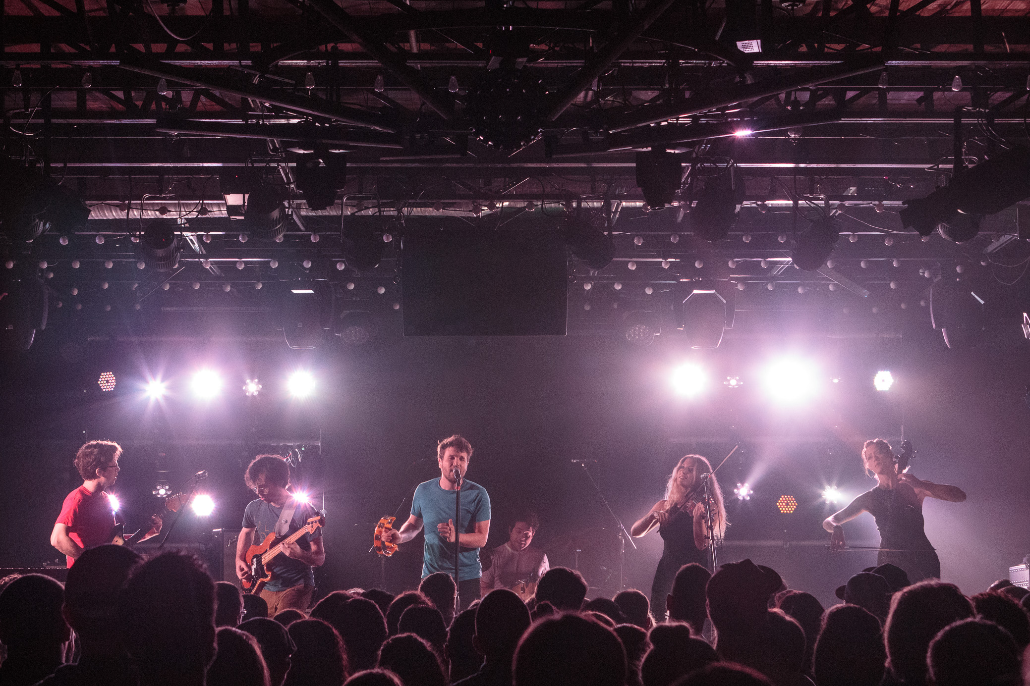 Ra Ra Riot performs at Saturn Birmingham in Birmingham, Alabama on March 12th, 2016.(Photo by David A. Smith/DSmithScenes)