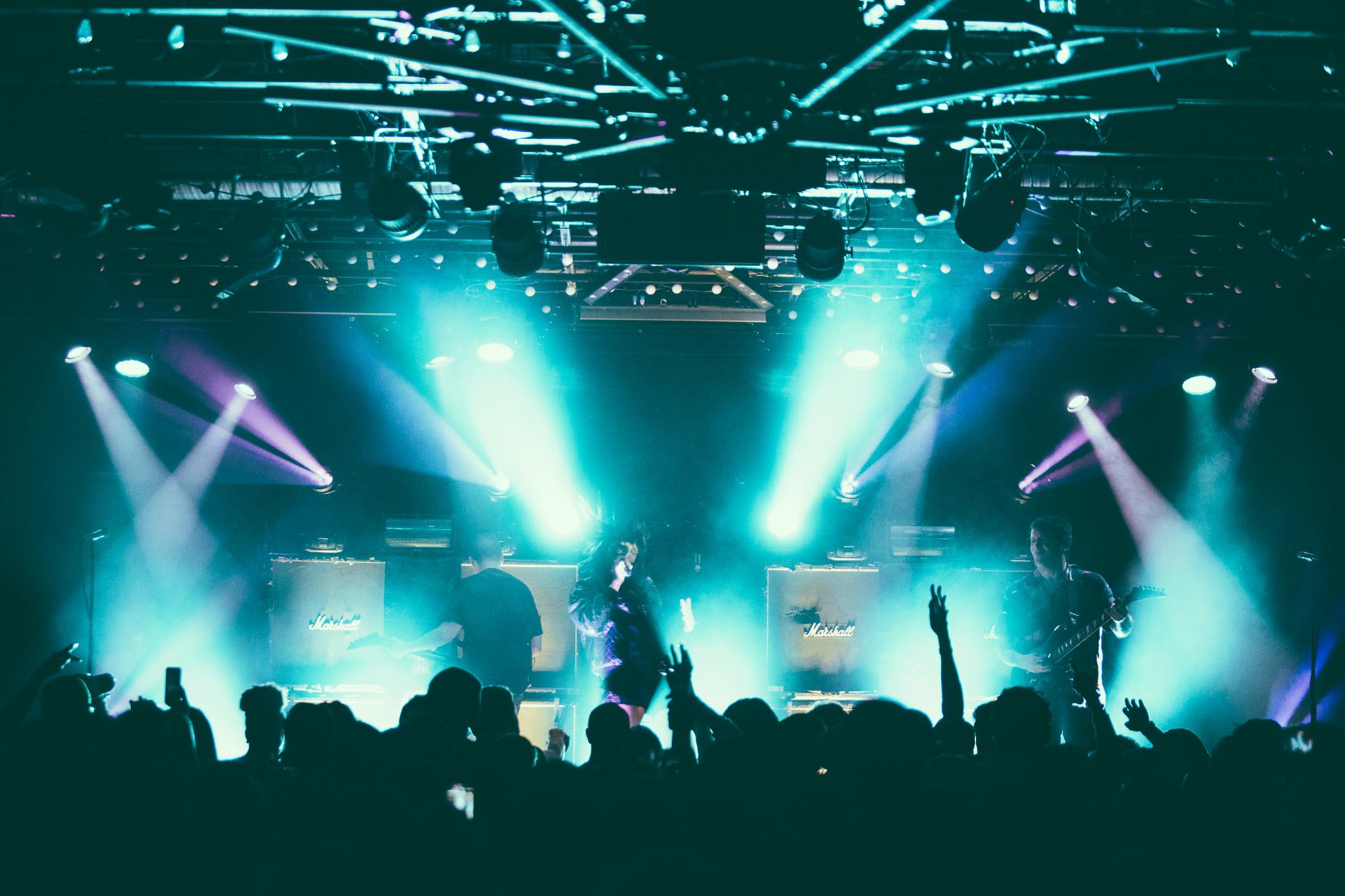 Sleigh Bells perform at Saturn Birmingham in Birmingham, Alabama on March 7th, 2017.   (Photo by David A. Smith/DSmithScenes)