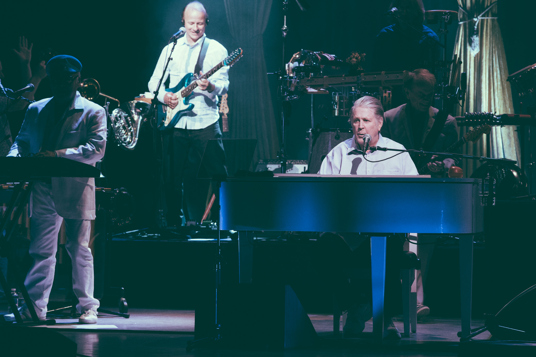Brian Wilson performs in concert at the Birmingham-Jefferson Civic Center Concert Hall in Birmingham, Alabama on May 9th, 2017. (Photo by David A. Smith/DSmithScenes)