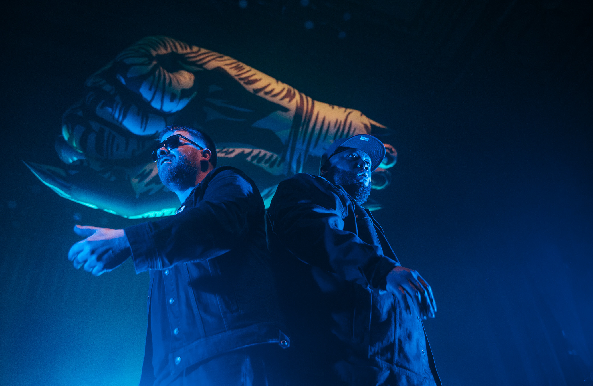 Run The Jewels perform at The Tabernacle in Atlanta, Georgia on January 21st, 2017. (Photo by David A. Smith/DSmithScenes)