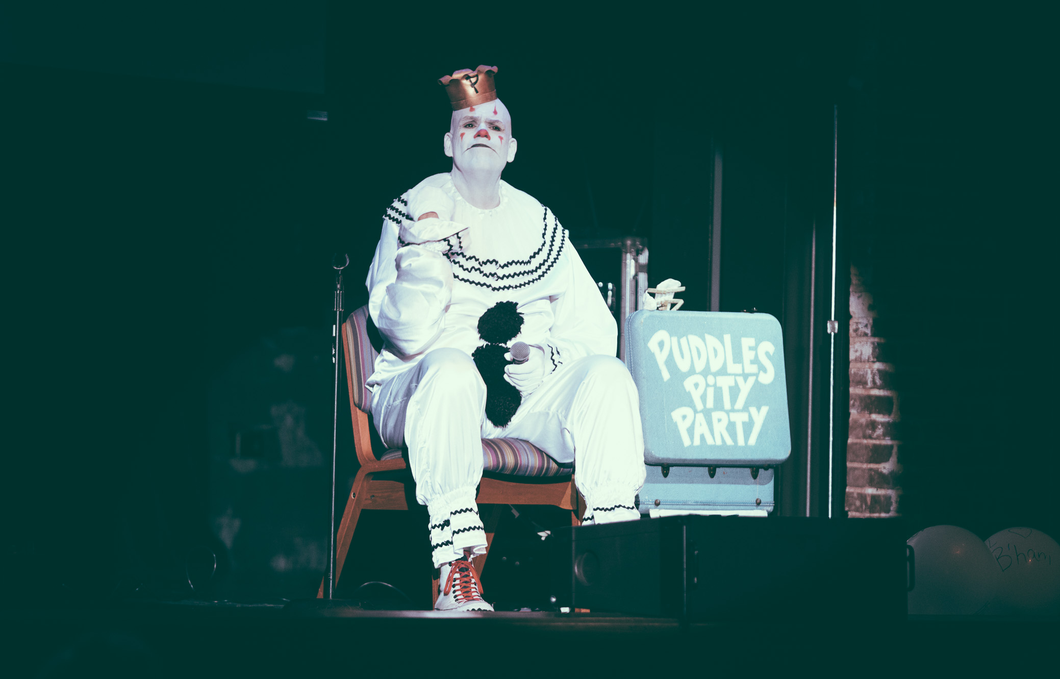 Puddles Pity Party performs in concert at Iron City in Birmingham, Alabama on July 29th, 2017. (Photo by David A. Smith/DSmithScenes)