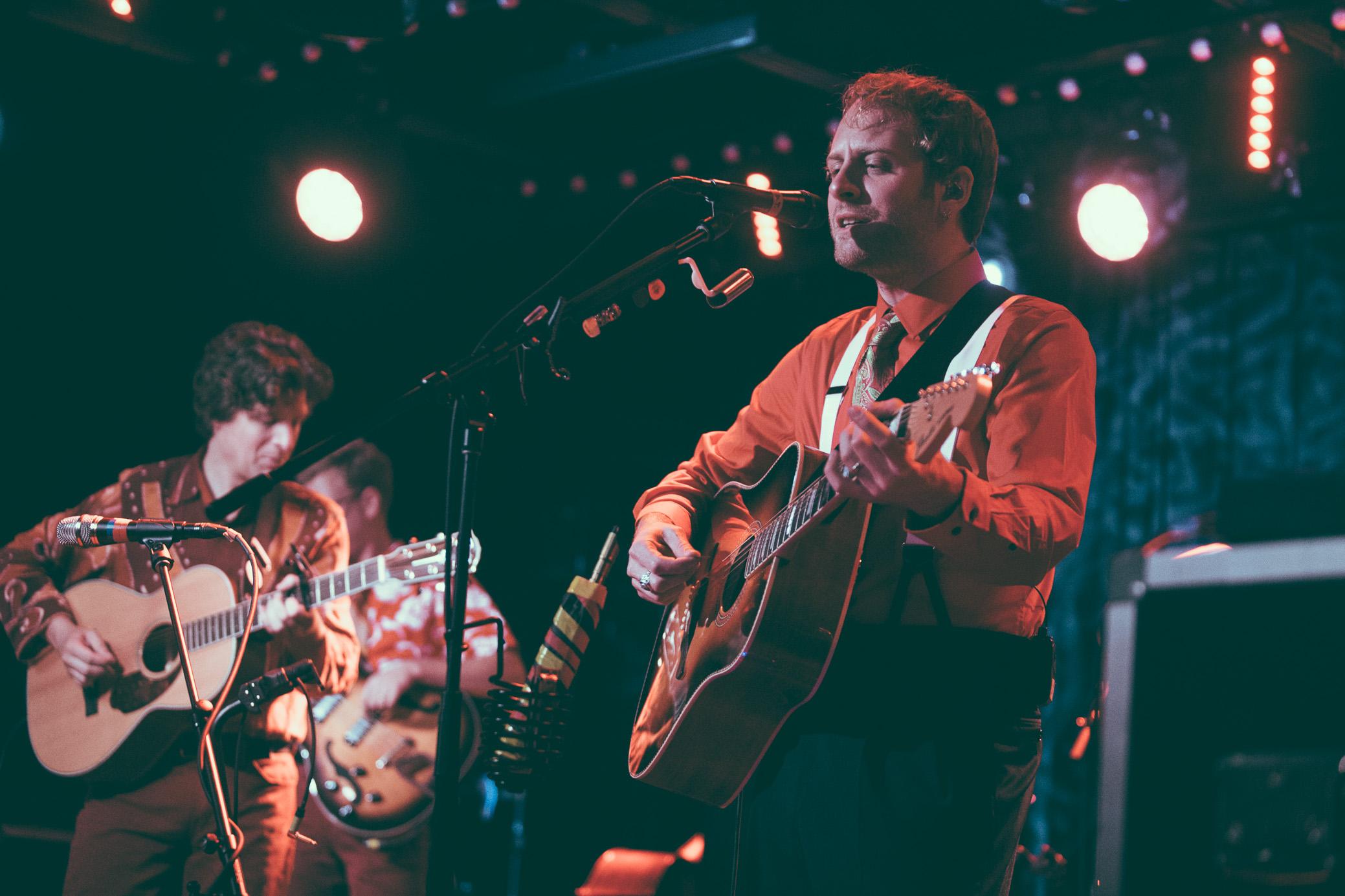 John McCauley of Deer Tick performs in concert at Saturn Birmingham in Birmingham, Alabama on September 17th, 2017. (Photo by David A. Smith/DSmithScenes)