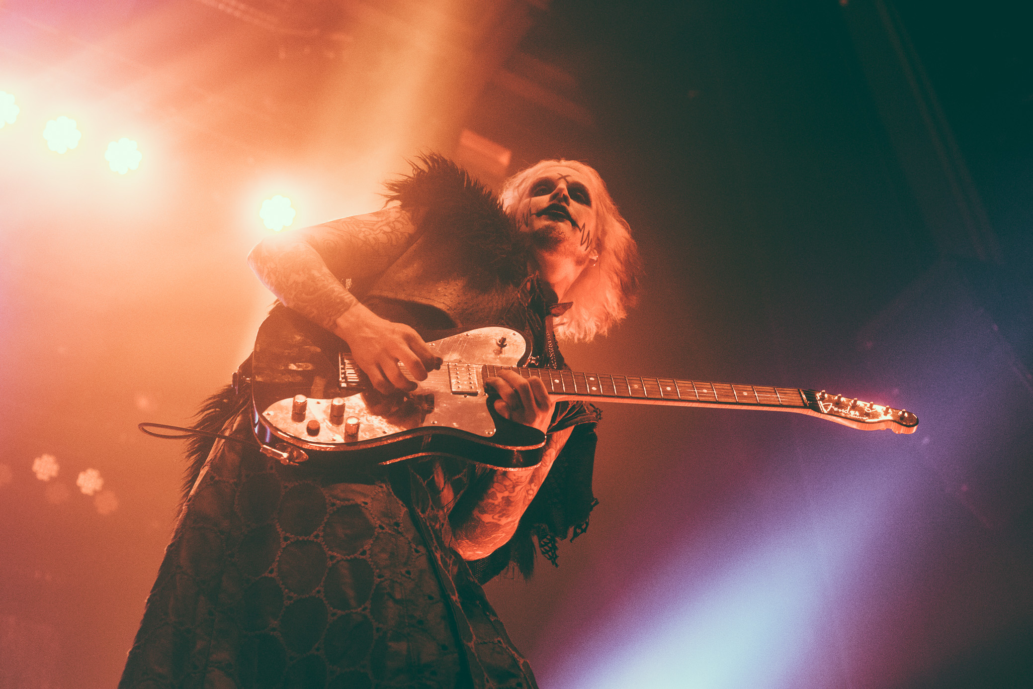 John 5 performs with Rob Zombie at the Coca-Cola Roxy Theatre in Atlanta, Georgia on October 3rd, 2017. (Photo by David A. Smith/DSmithScenes)