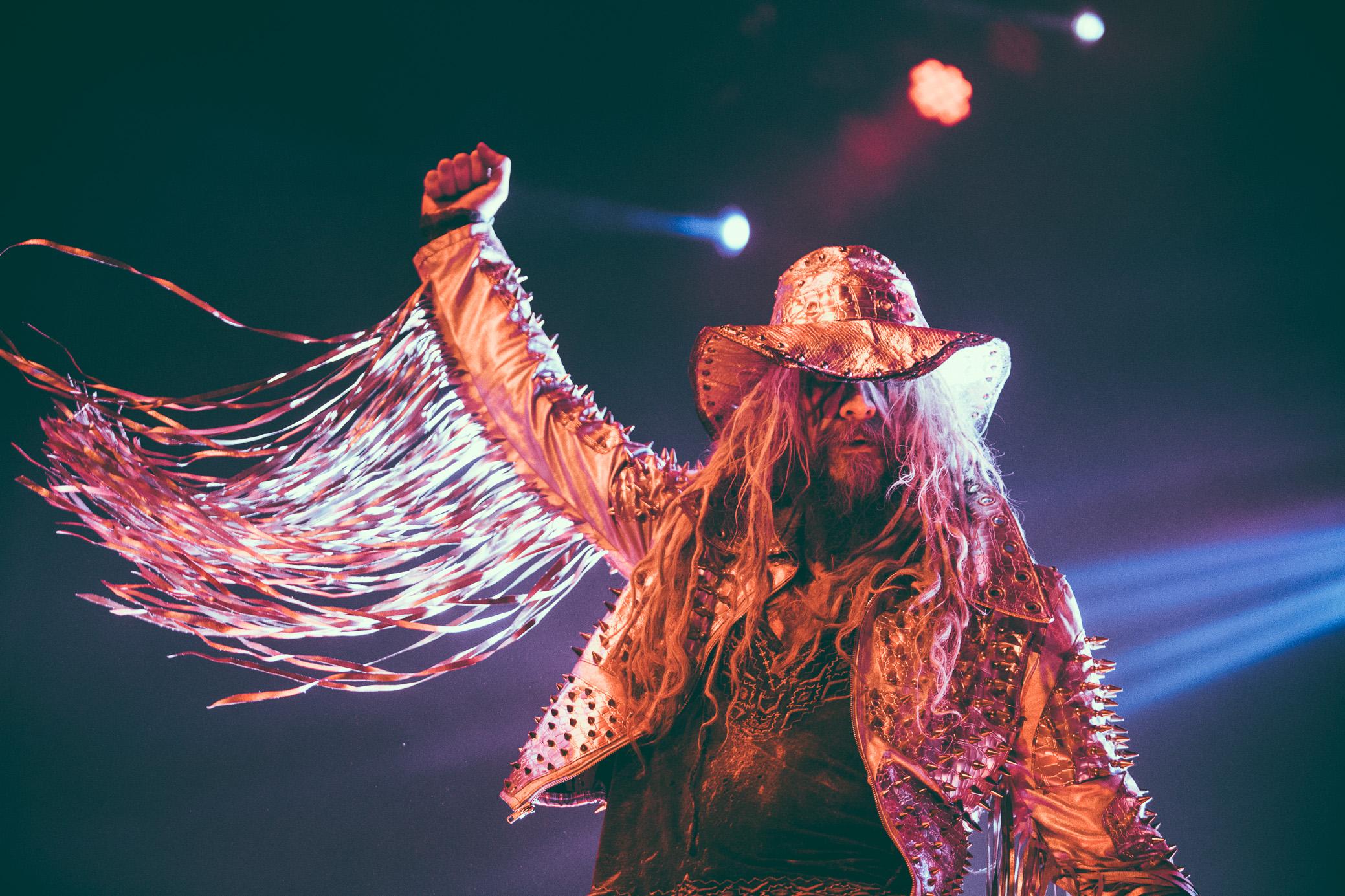 Rob Zombie performs at the Coca-Cola Roxy Theatre in Atlanta, Georgia on October 3rd, 2017. (Photo by David A. Smith/DSmithScenes)