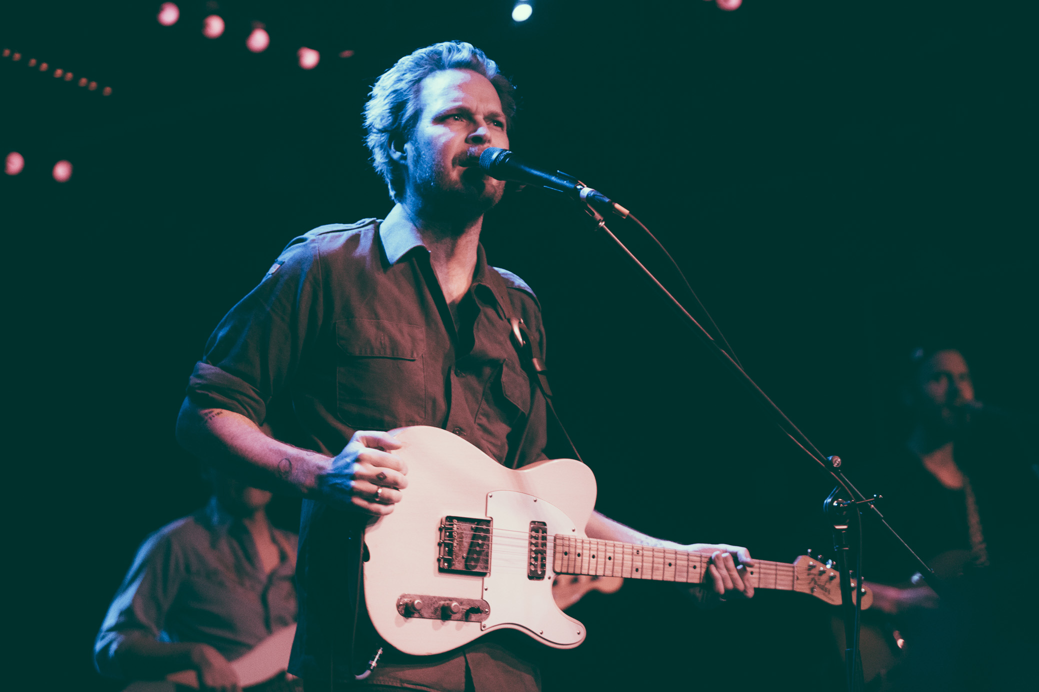 Hiss Golden Messenger performs at Saturn Birmingham in Birmingham, Alabama on February 7th, 2017. (Photo by David A. Smith/DSmithScenes)