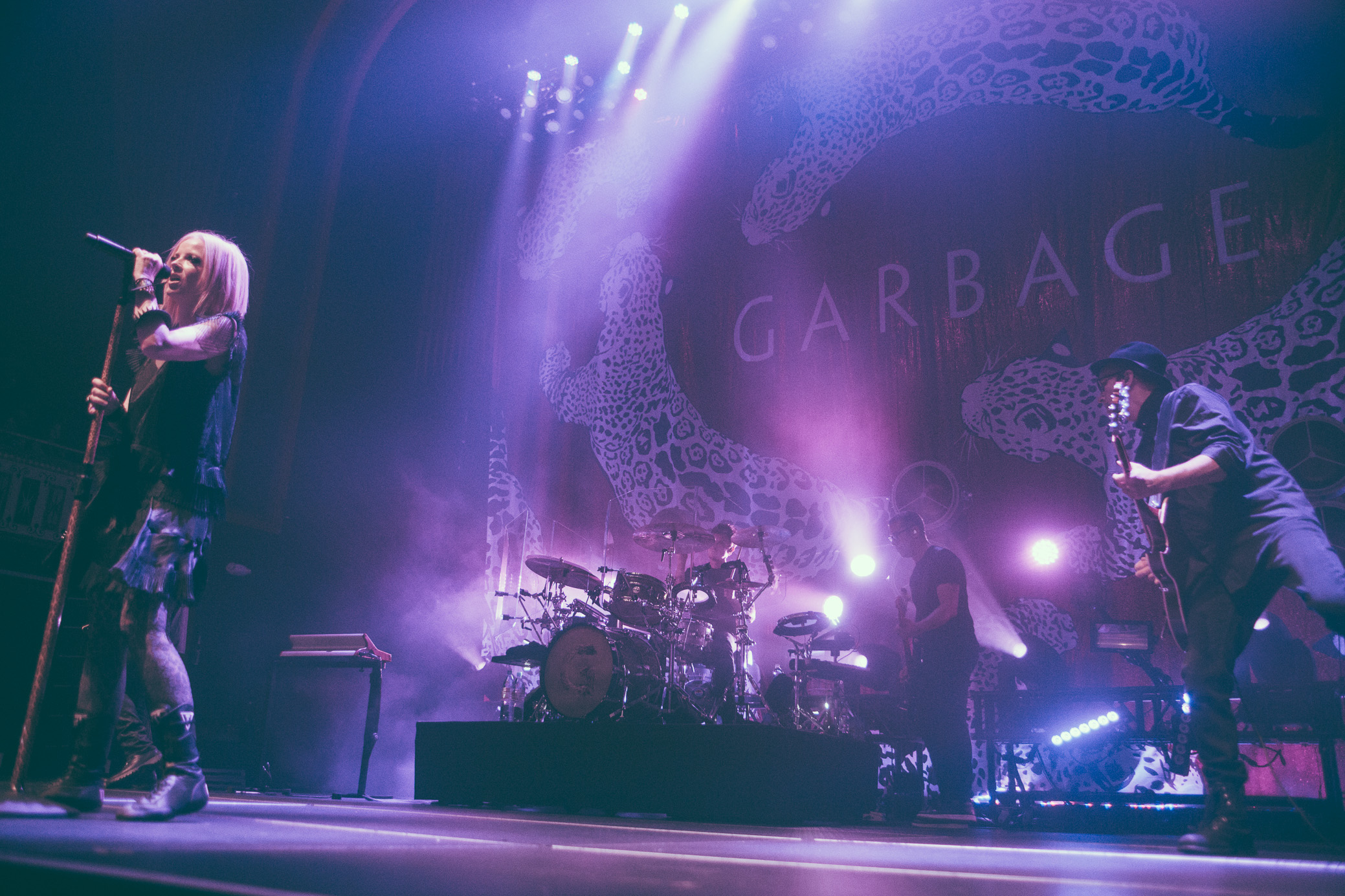 Garbage performs at The Tabernacle in Atlanta, Georgia on July 22nd, 2016.   (Photo by David A. Smith/DSmithScenes)
