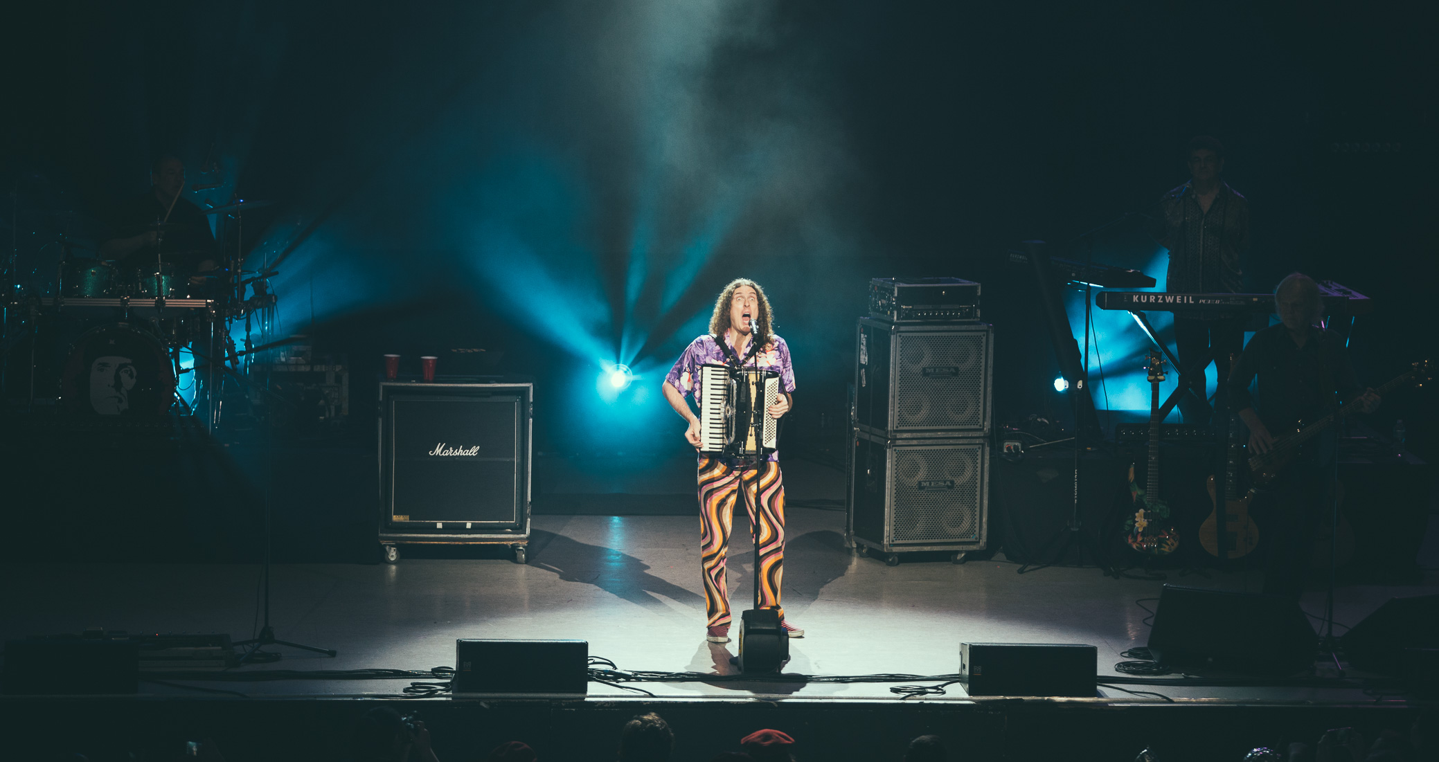 Weird Al Yankovic performs at the Birmingham-Jefferson Civic Center Concert Hall in Birmingham, Alabama on June 12th, 2016. (Photo by David A. Smith/DSmithScenes)