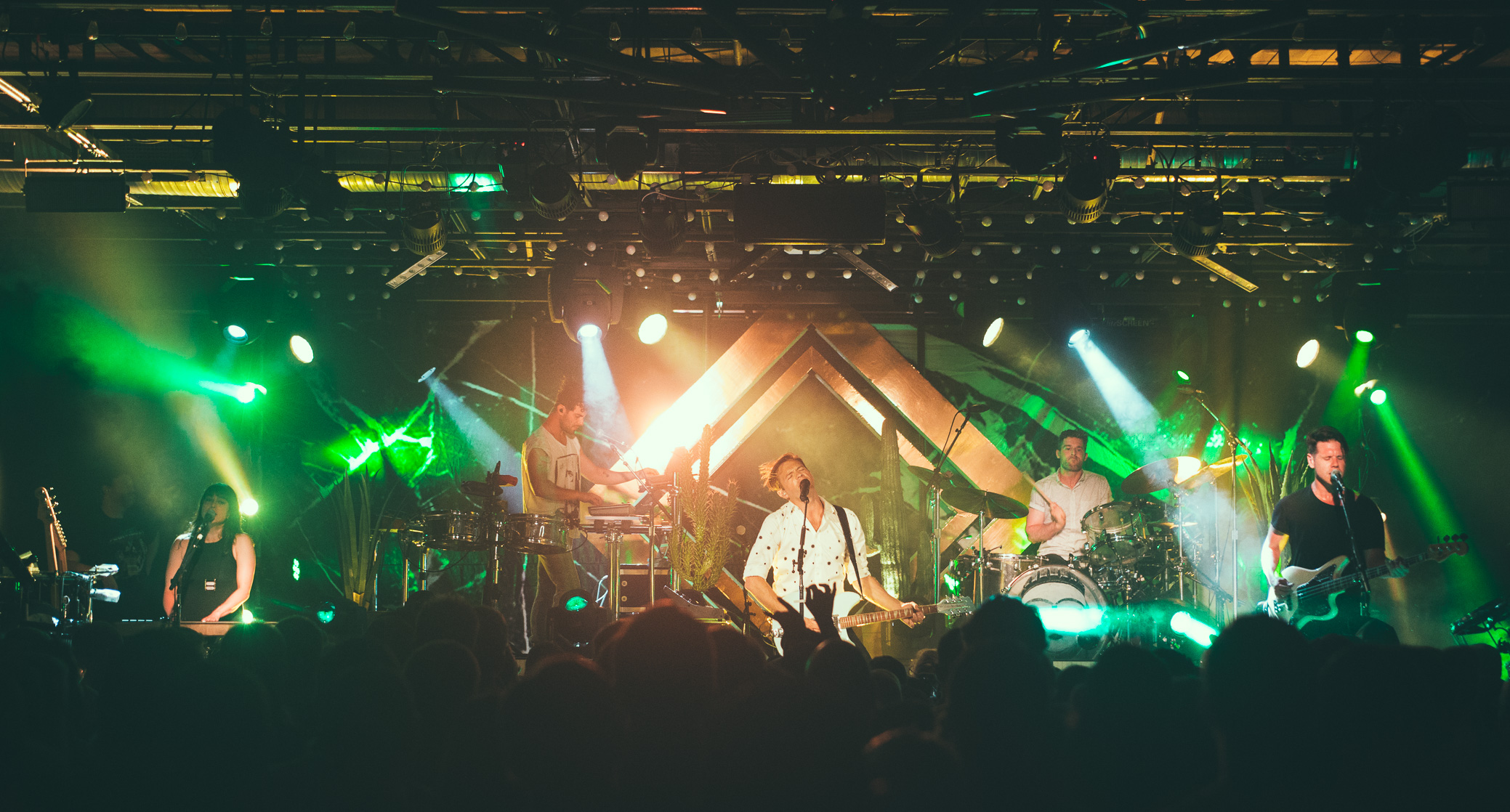 St. Lucia performs at Saturn Birmingham in Birmingham, Alabama on June 9th, 2016. (Photo by David A. Smith/DSmithScenes)