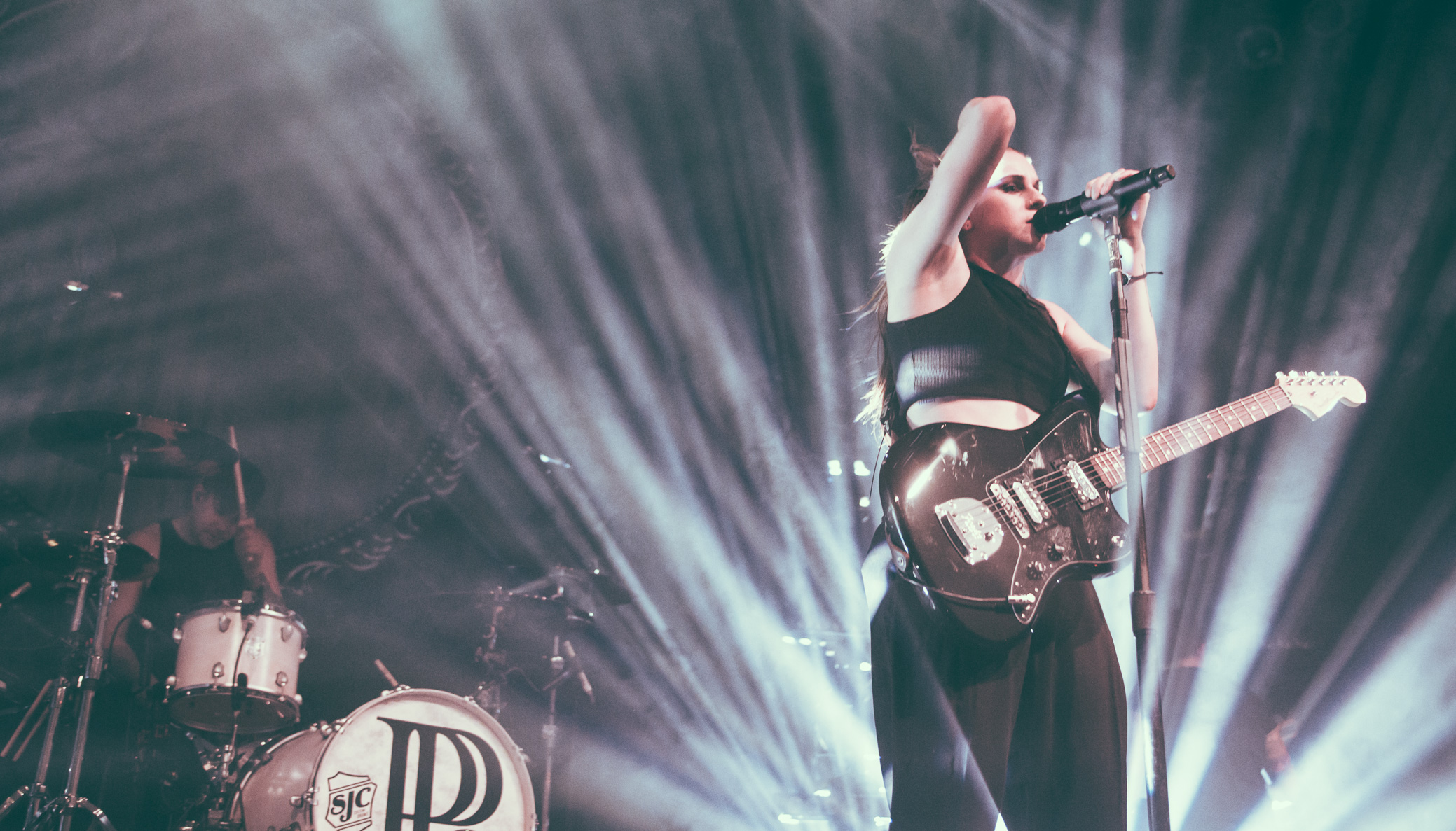PVRIS performs at Center Stage Theater in Atlanta, Georgia on May 12th, 2016. (Photo by David A. Smith/DSmithScenes)