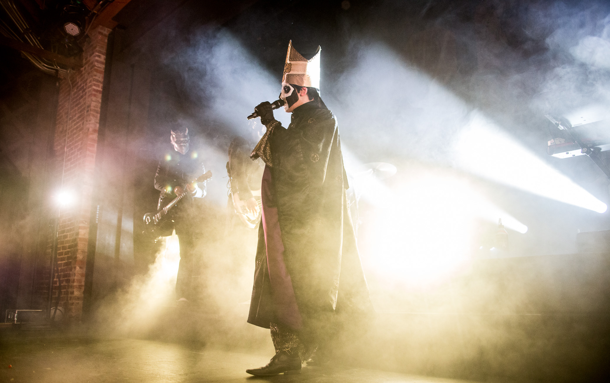 Ghost performs at Iron City in Birmingham, Alabama on May 2nd, 2016.   (Photo by David A. Smith/DSmithScenes)
