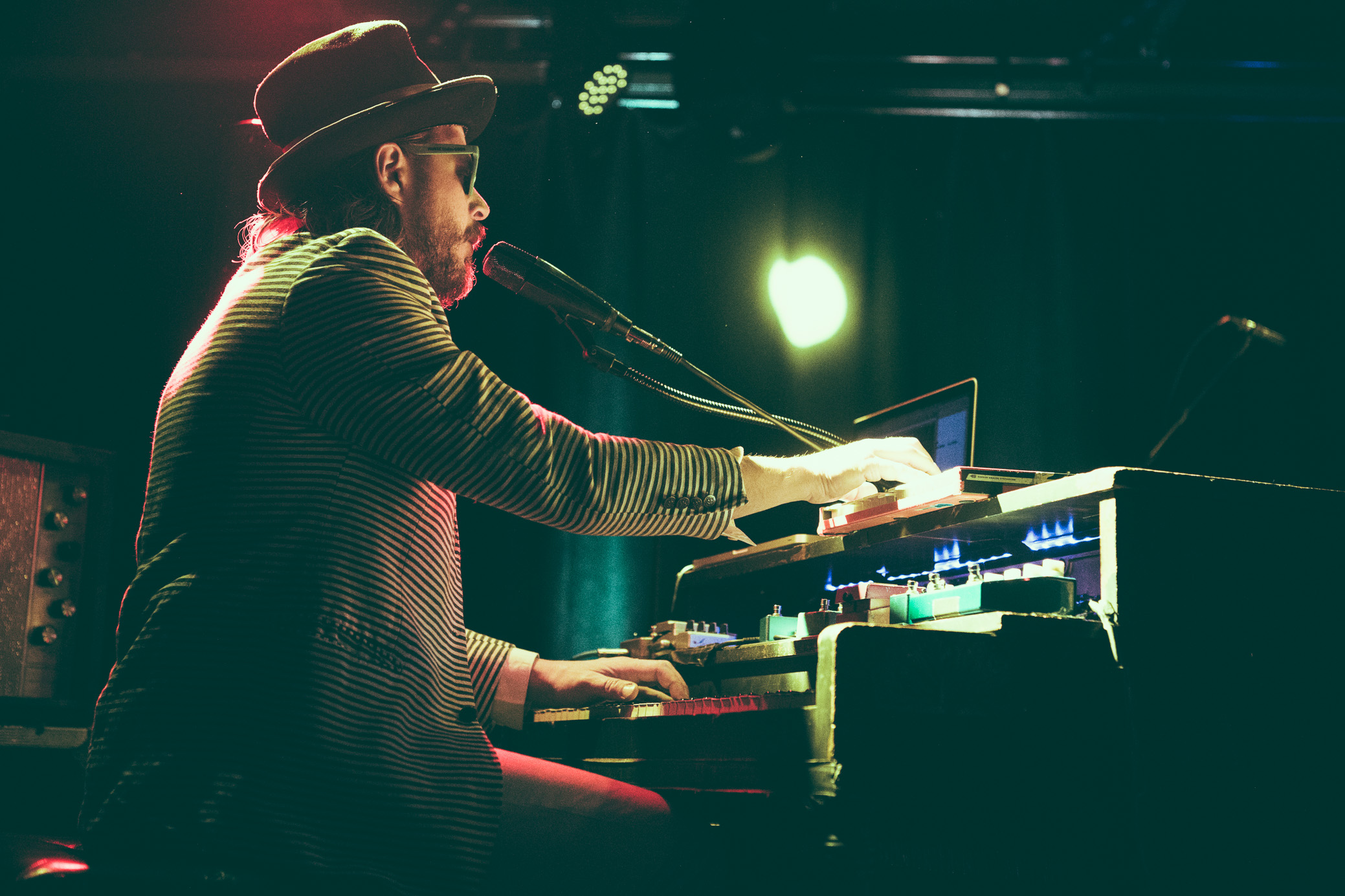 Marco Benevento performs in concert at Saturn Birmingham in Birmingham, Alabama on February 9th, 2018. (Photo by David A. Smith/DSmithScenes)