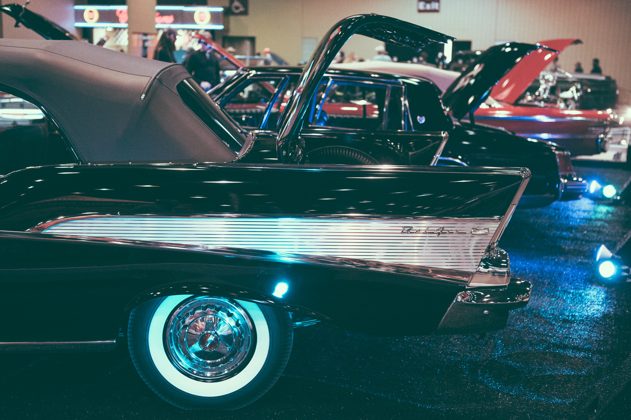 A scene from the World of Wheels at the Birmingham-Jefferson Civic Center in Birmingham, Alabama on February 11th, 2018. (Photo by David A. Smith/DSmithScenes)